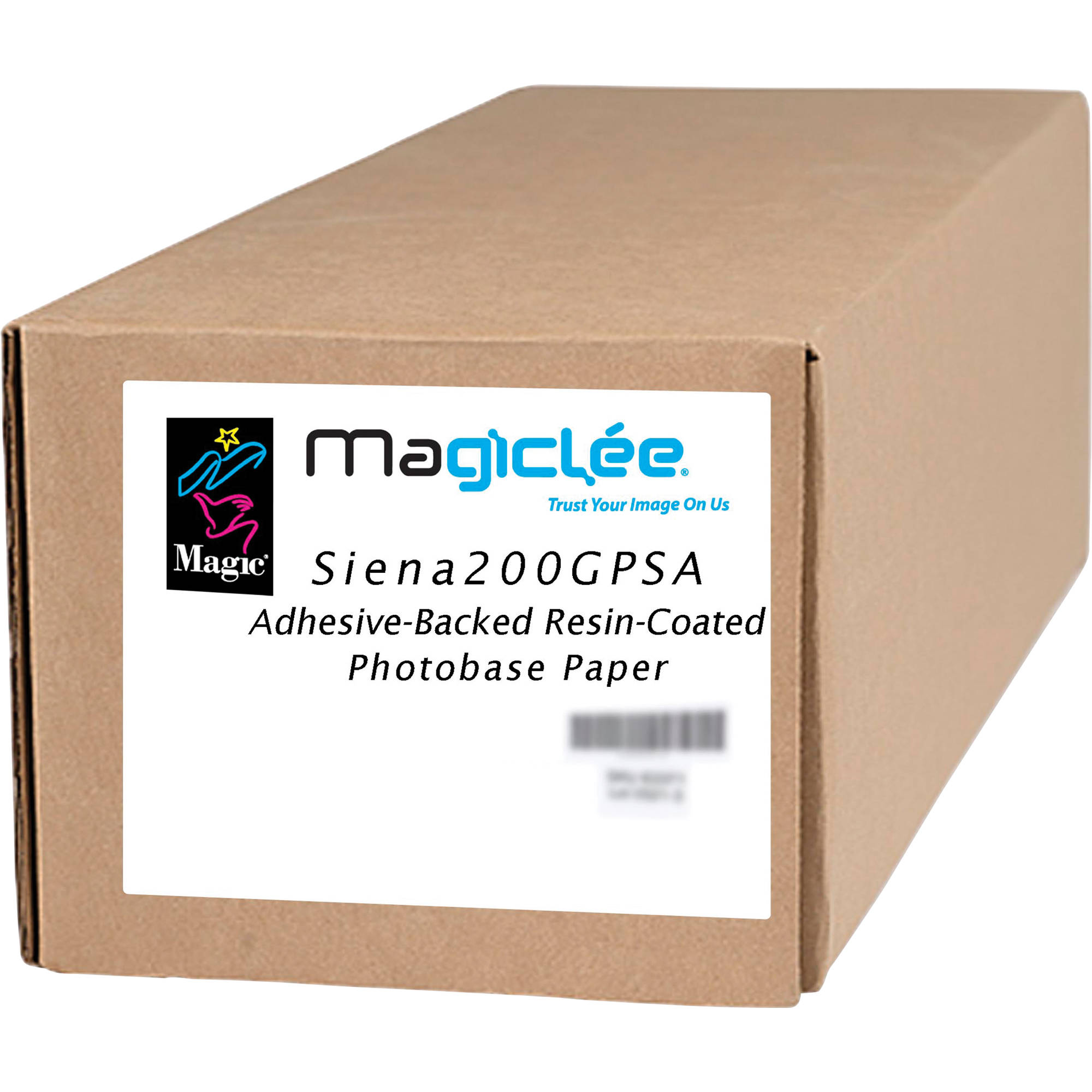 Magic Siena 200 G PSA Adhesive-Backed Resin-Coated 66176 B&H