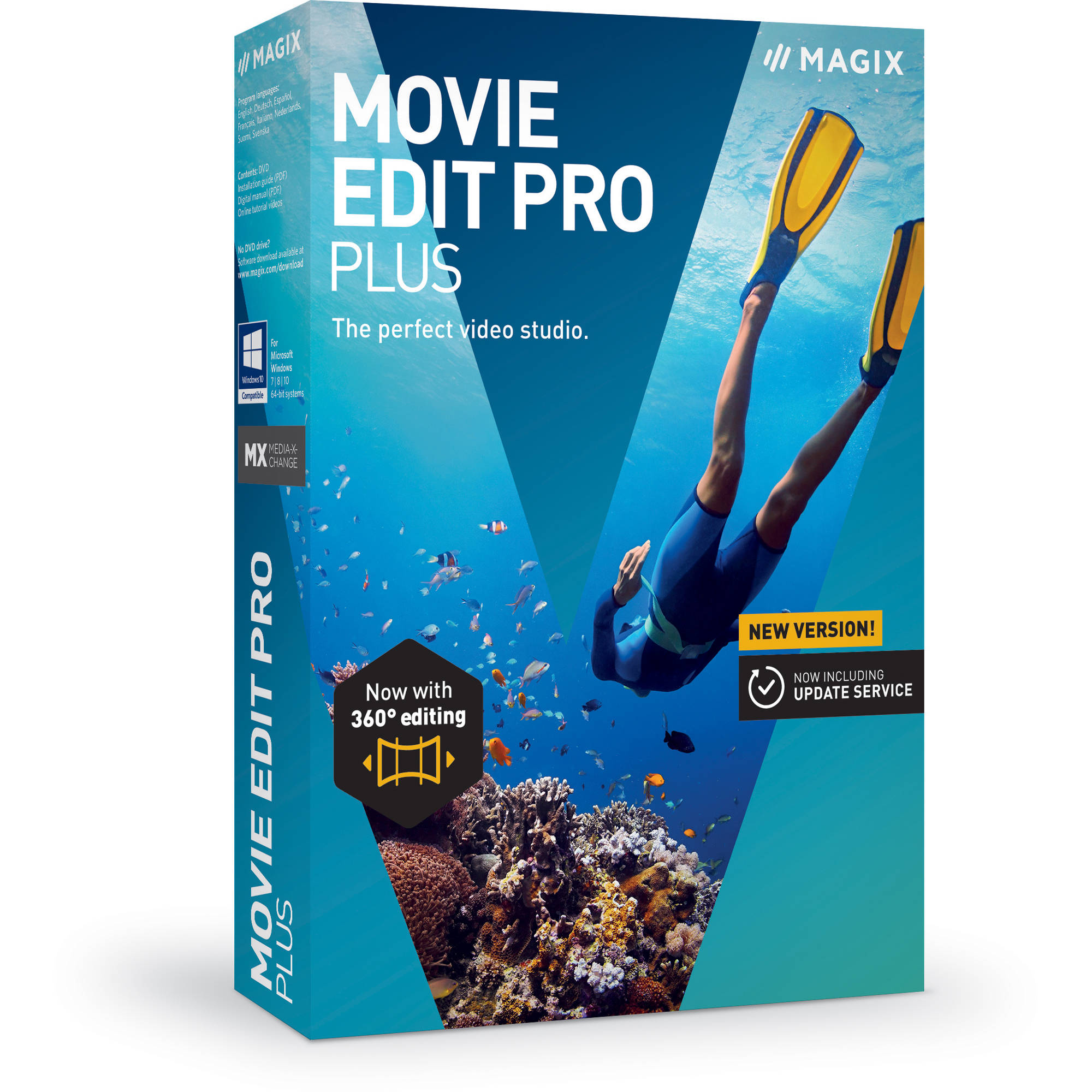 Magix entertainment movie edit pro plus anr005972esdl2 b h for Magix movie edit pro templates
