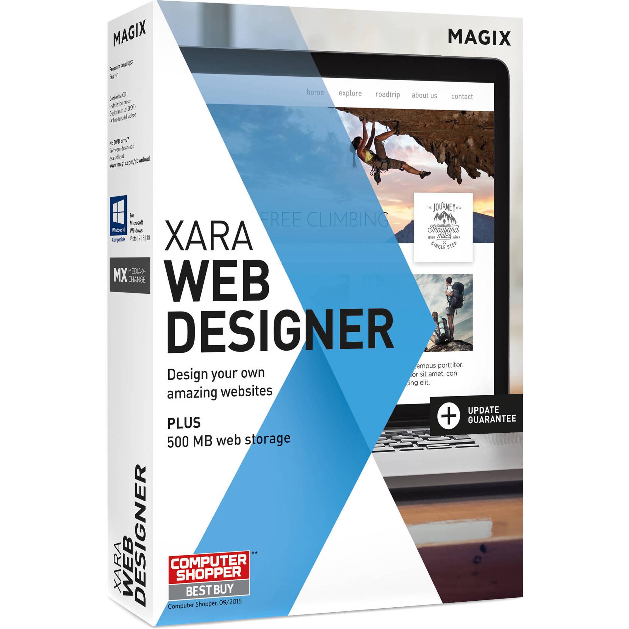Xara Web Designer Tutorials - oukas.info