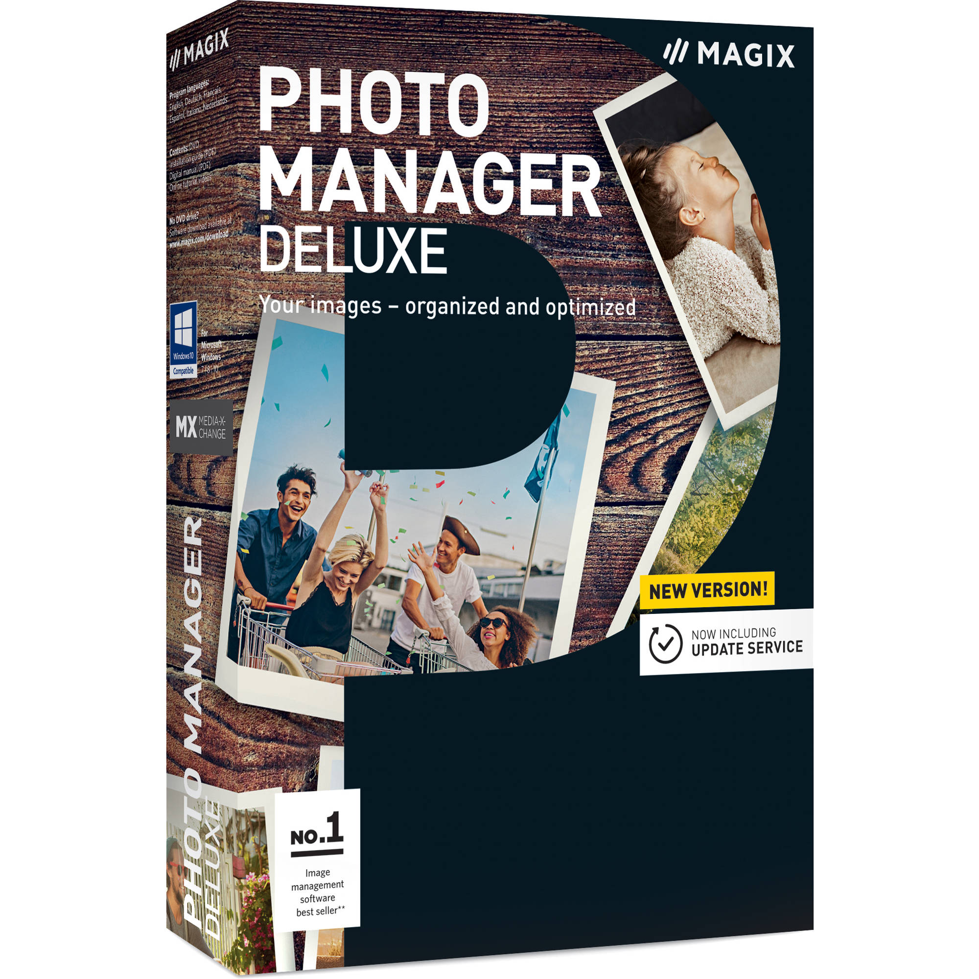 MAGIX Entertainment Photo Manager Deluxe (Download, Academic Edition)