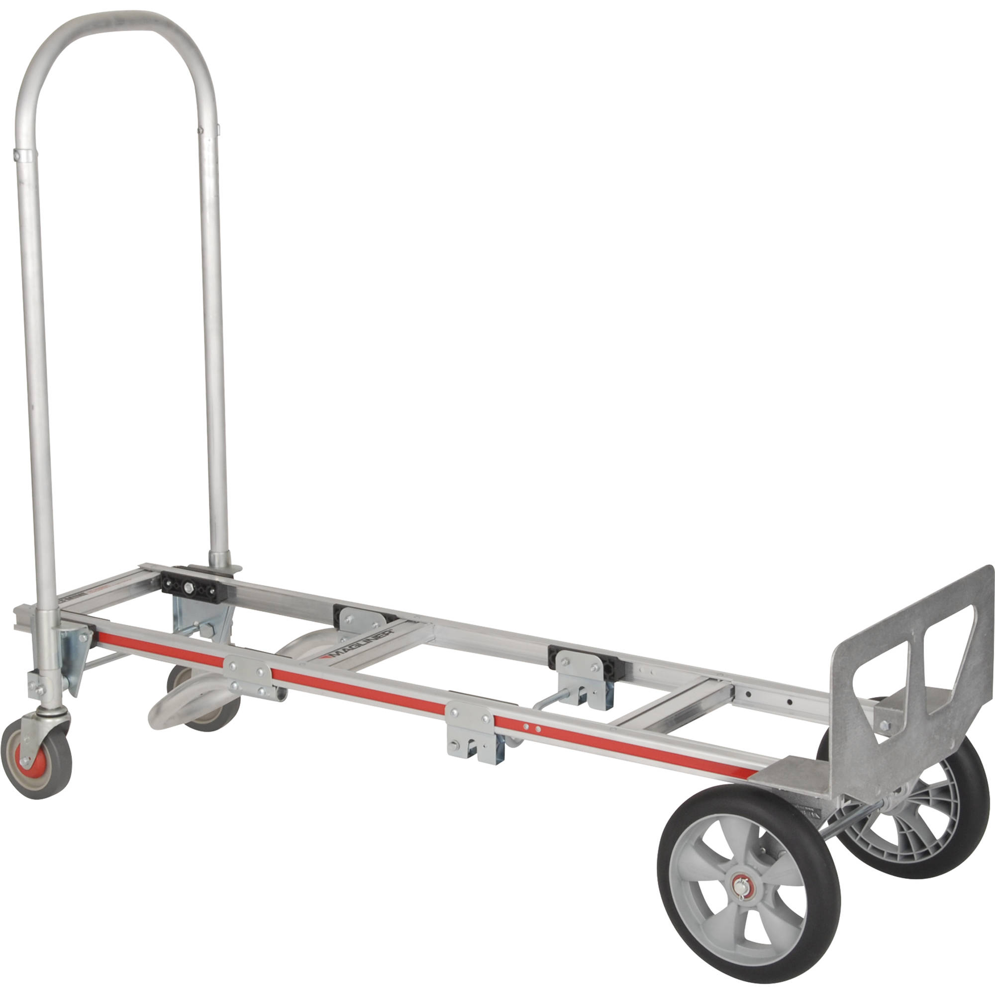 Magliner Gemini Sr Convertible Hand Truck With 10 Interlocked Microcellular Foam Wheels