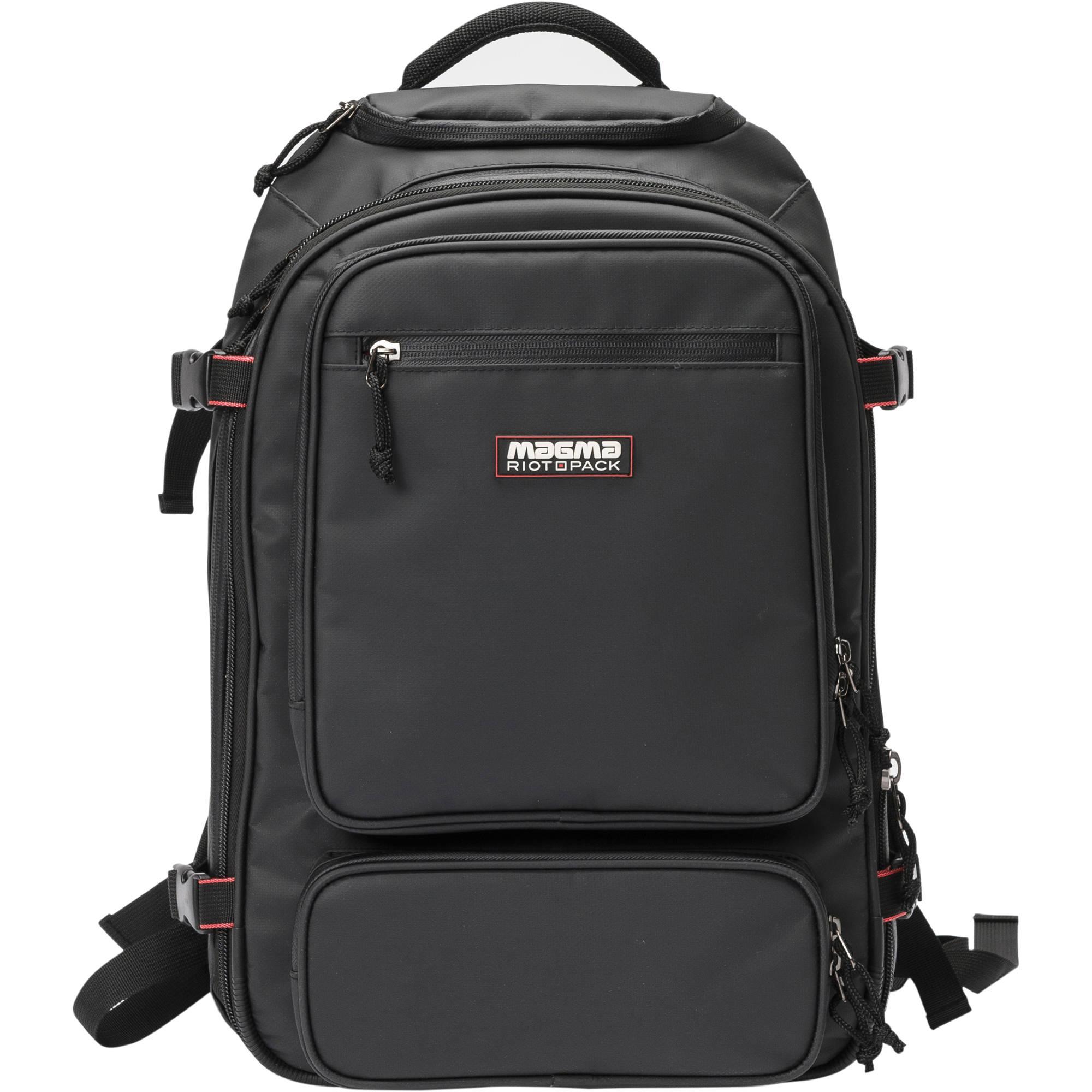 Magma Bags Riot Dj Backpack For Digital Djs