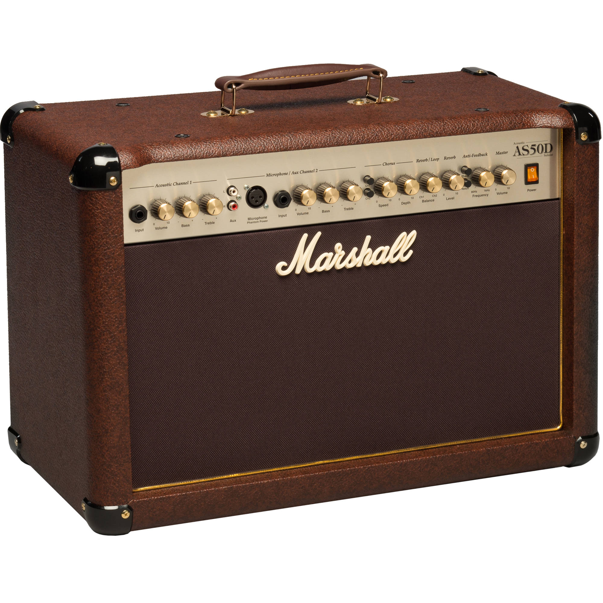 marshall amplification as50d 50w 2x8 m as50d u b h. Black Bedroom Furniture Sets. Home Design Ideas