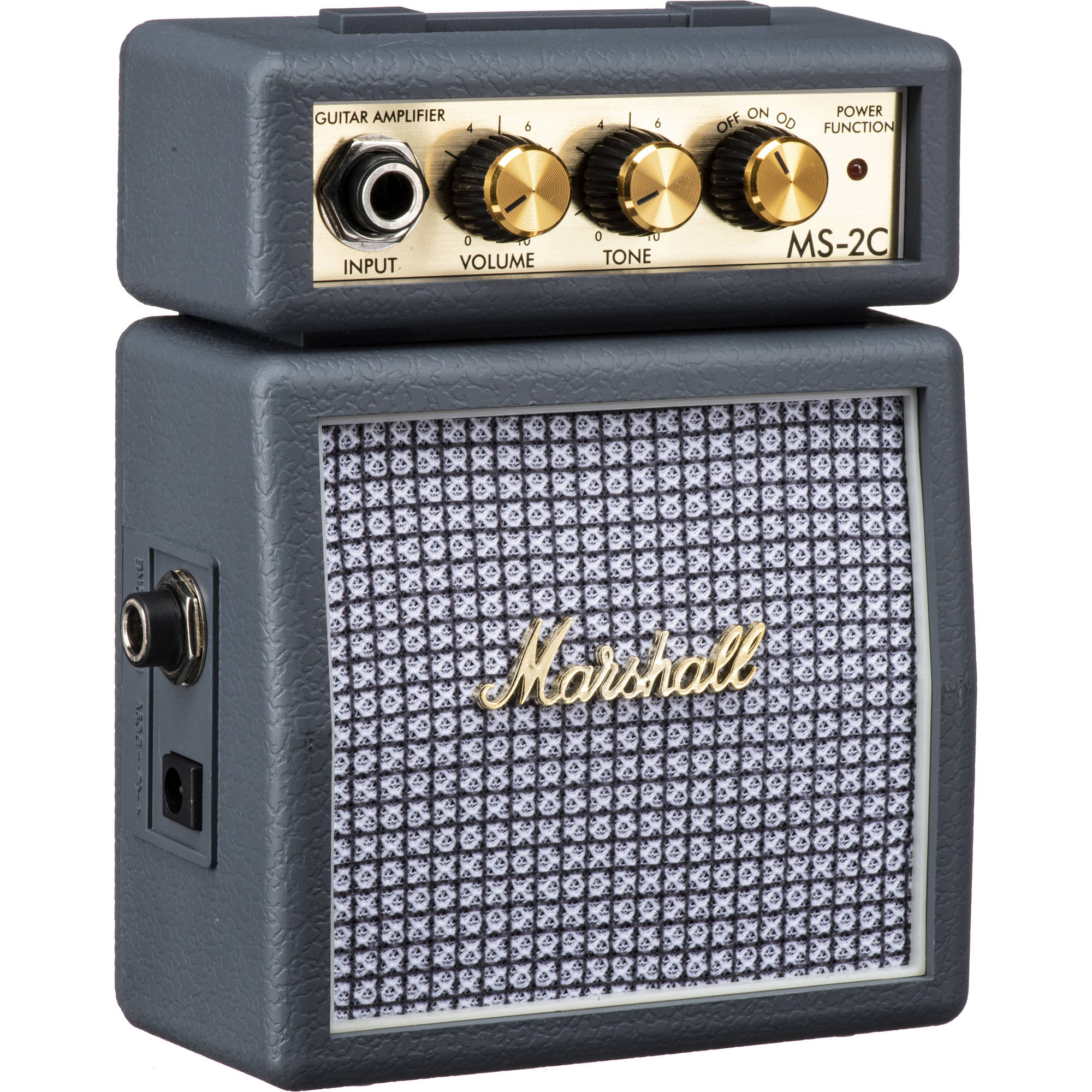 marshall amplification ms 2c micro amp mini practice amp ms 2c. Black Bedroom Furniture Sets. Home Design Ideas