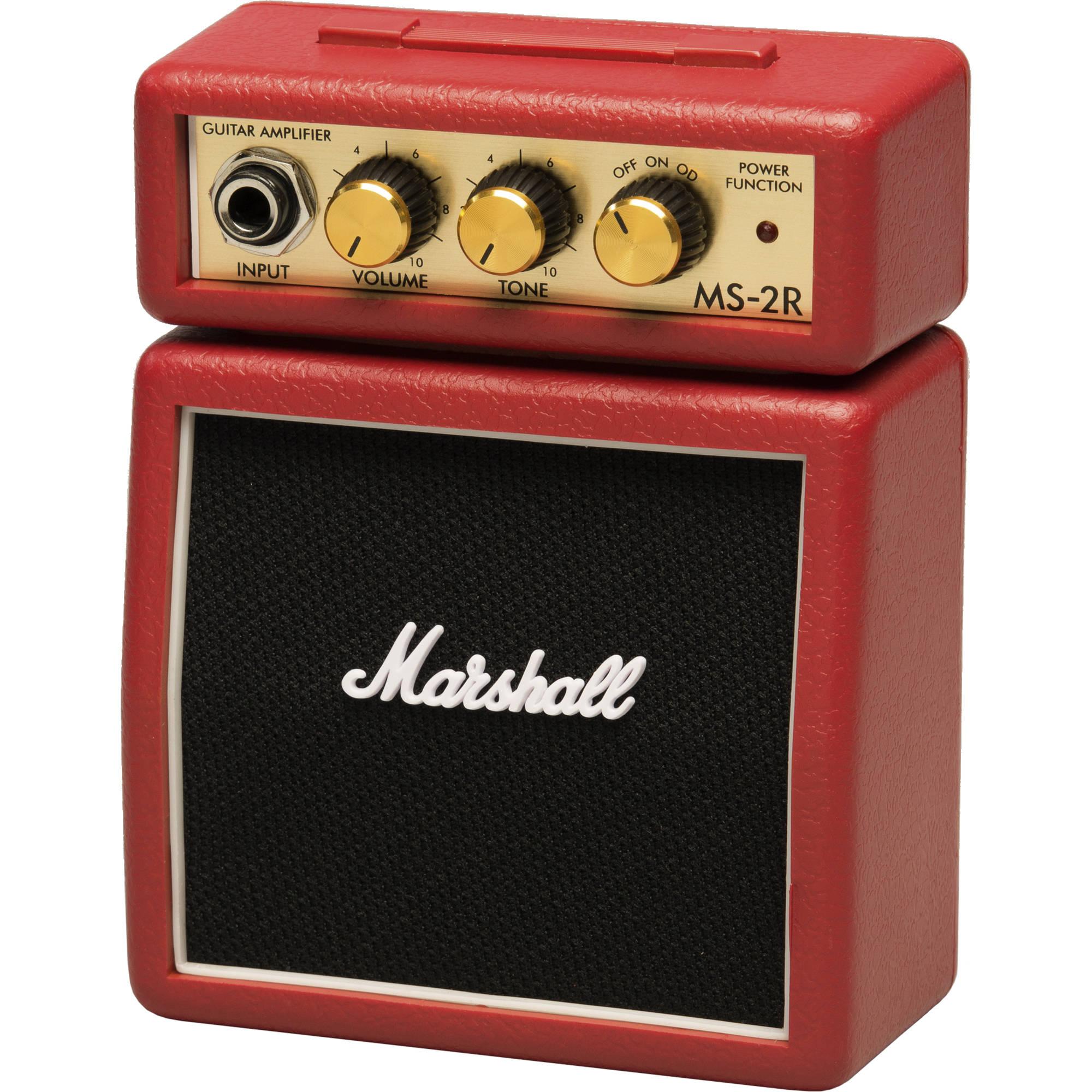 marshall amplification ms 2r micro amp mini practice amp ms 2r rh bhphotovideo com Small Amplifier Micro Audio Amplifier Circuit