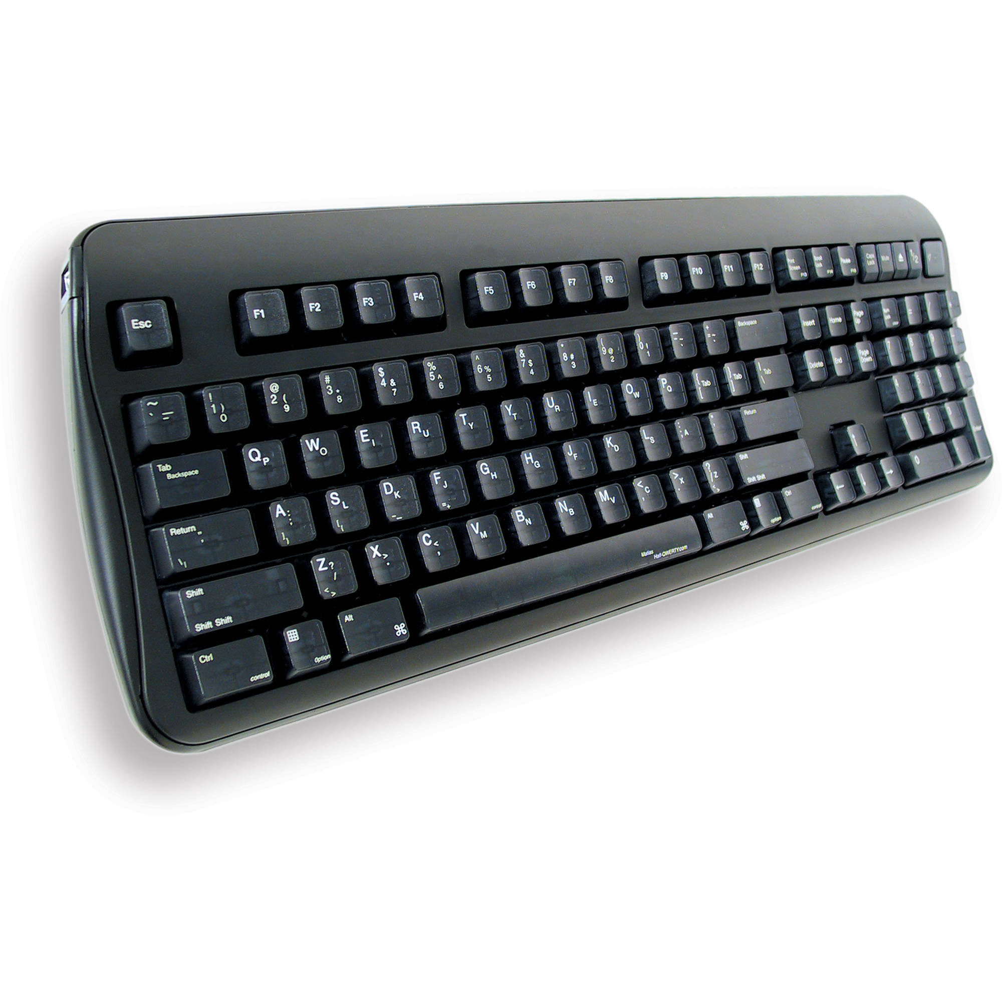 matias half qwerty 508 keyboard for one handed typing fk101 508. Black Bedroom Furniture Sets. Home Design Ideas