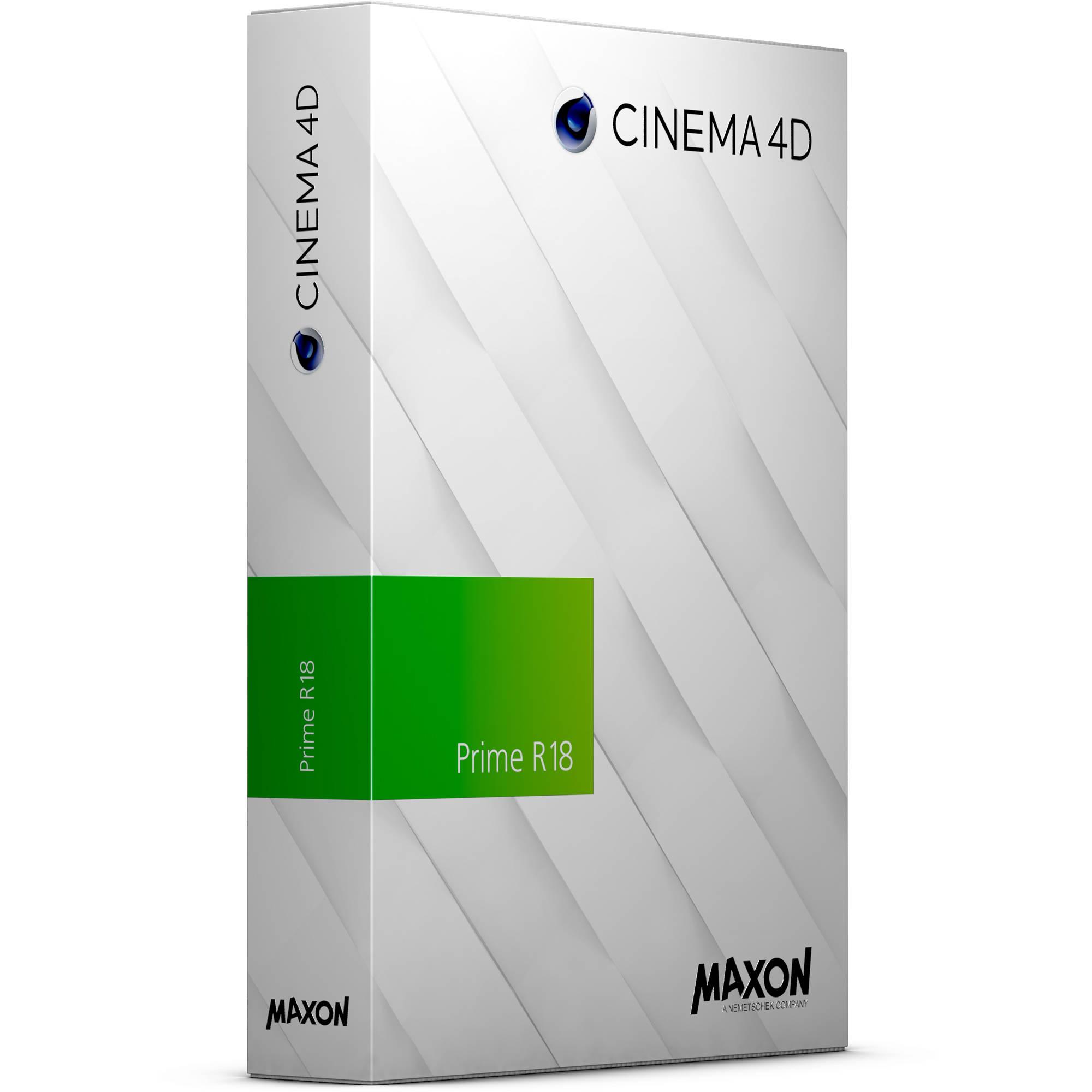 maxon cinema 4d prime r18 download c4d n 18 b h photo video. Black Bedroom Furniture Sets. Home Design Ideas
