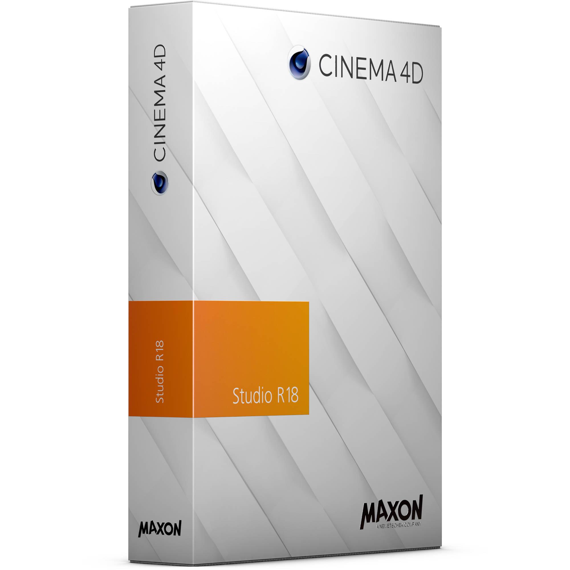 Order Cinema 4D Studio R18 Online