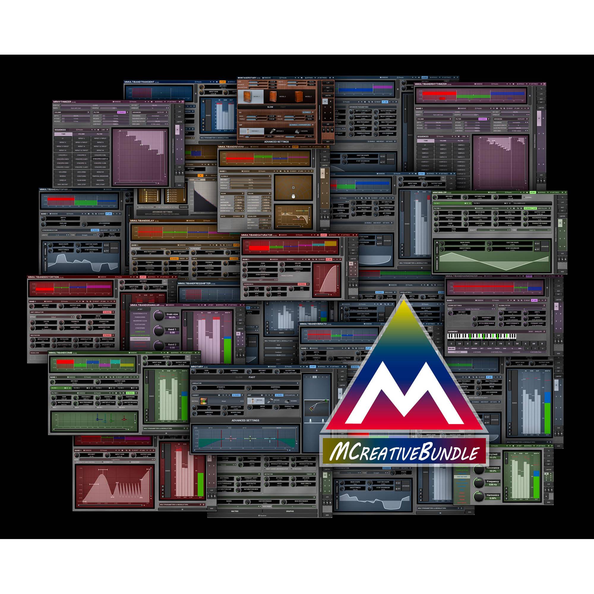 MCreativeBundle - Sound Processing Plug-Ins Bundle (Download)