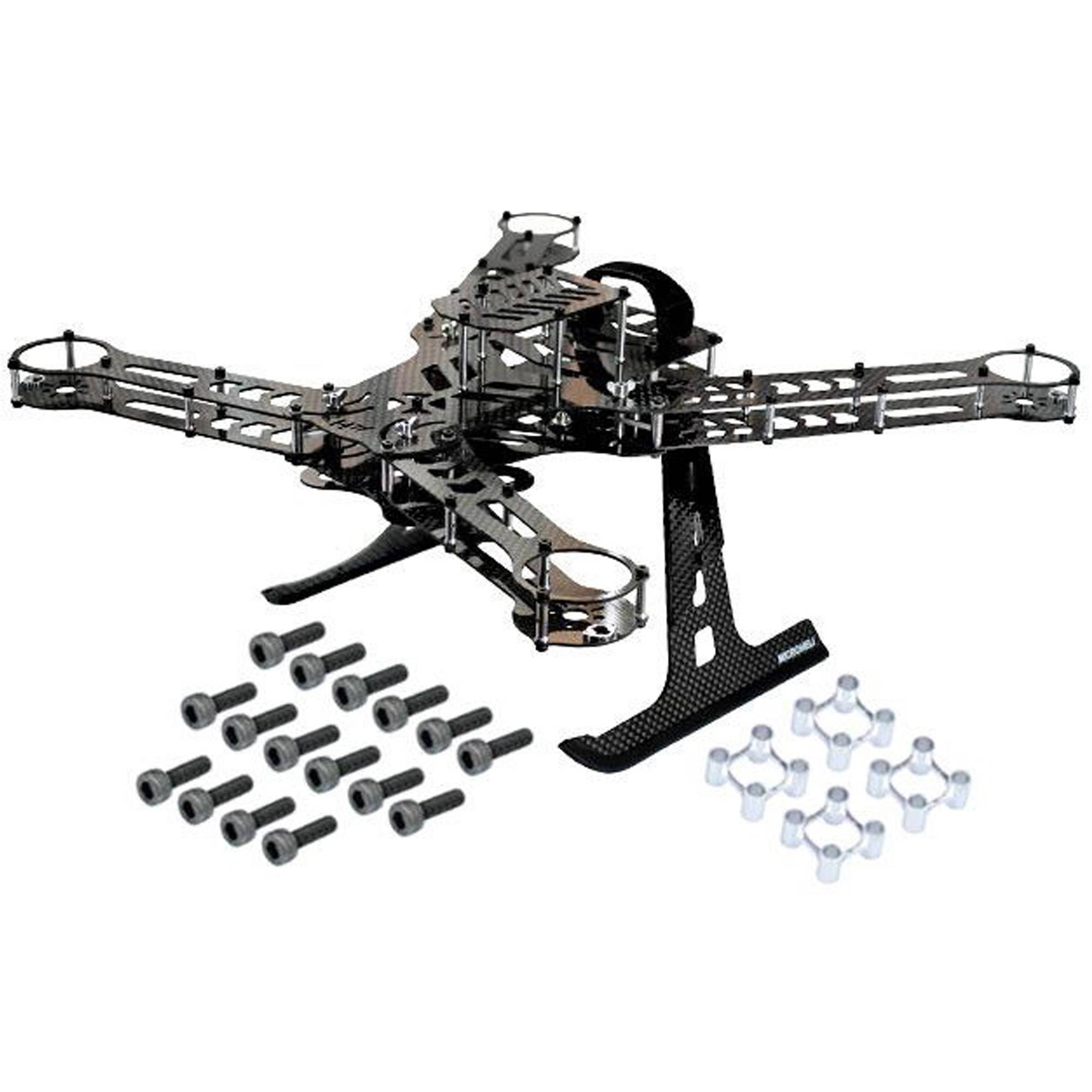 MICROHELI CNC Aluminum/Carbon Fiber Frame Kit MHE35QX005QK B&H