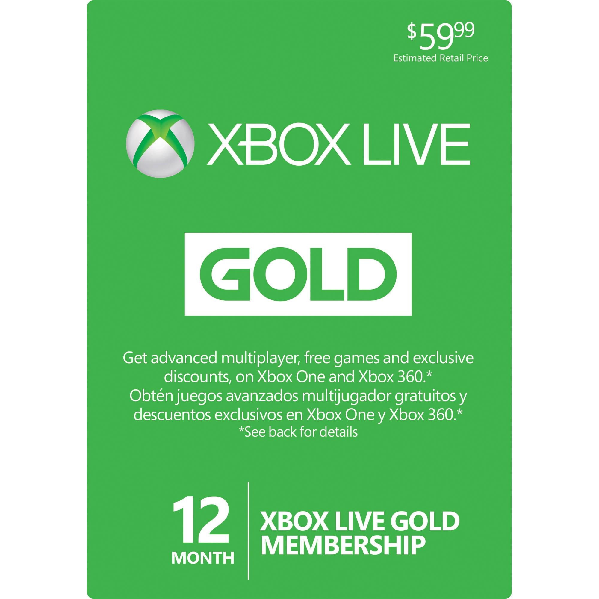 Microsoft M Xbox Live