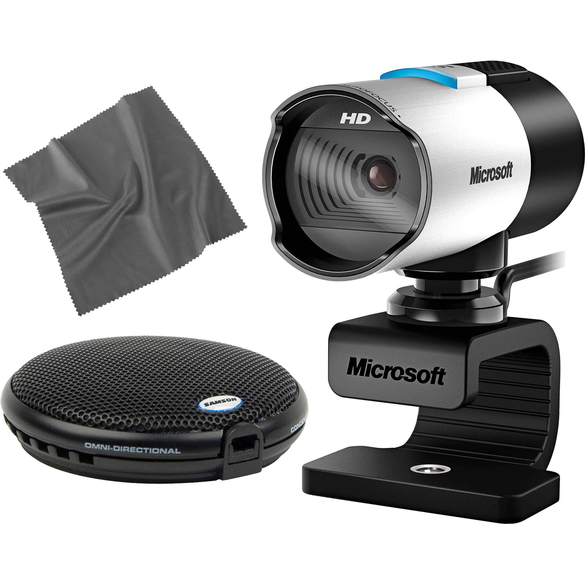 LifeCam Studio Webcam and UB1 Conferencing Mic Kit