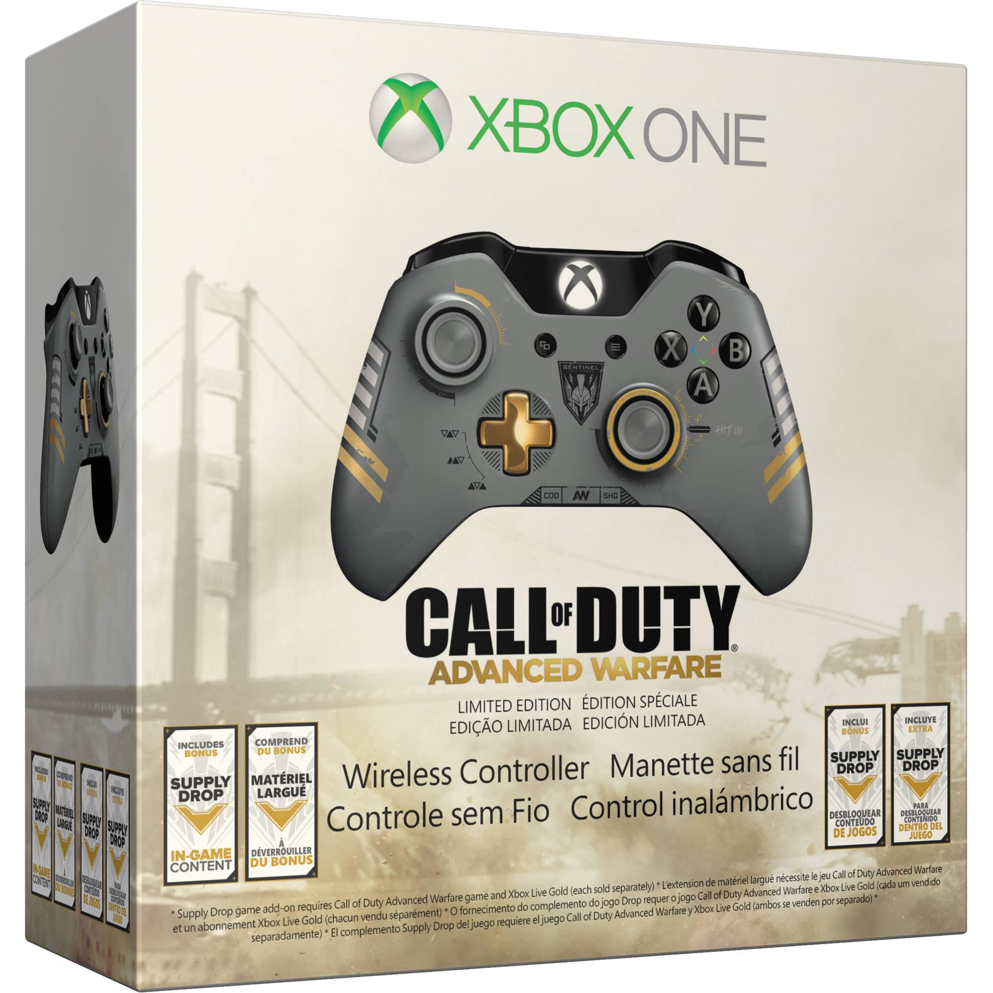 Microsoft xbox one limited edition call of duty advance warfare wireless controller