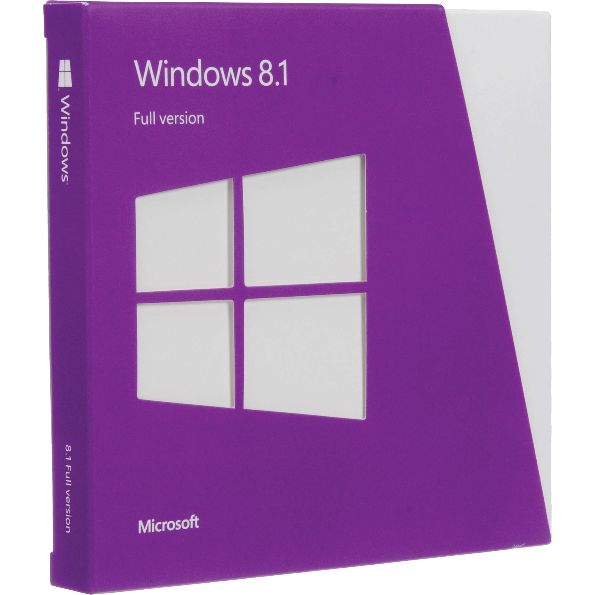 Microsoft windows 8 1 dvd 32 64 bit wn7 00578 b h photo for Microsoft windows 1
