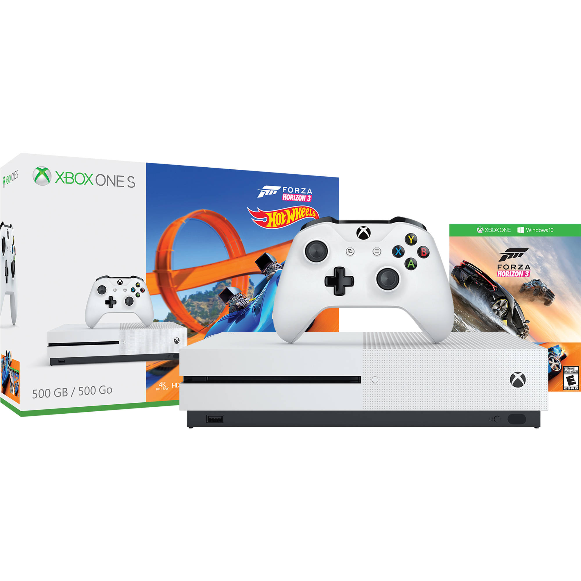 microsoft xbox one s forza horizon 3 hot wheels bundle zq9 00202. Black Bedroom Furniture Sets. Home Design Ideas