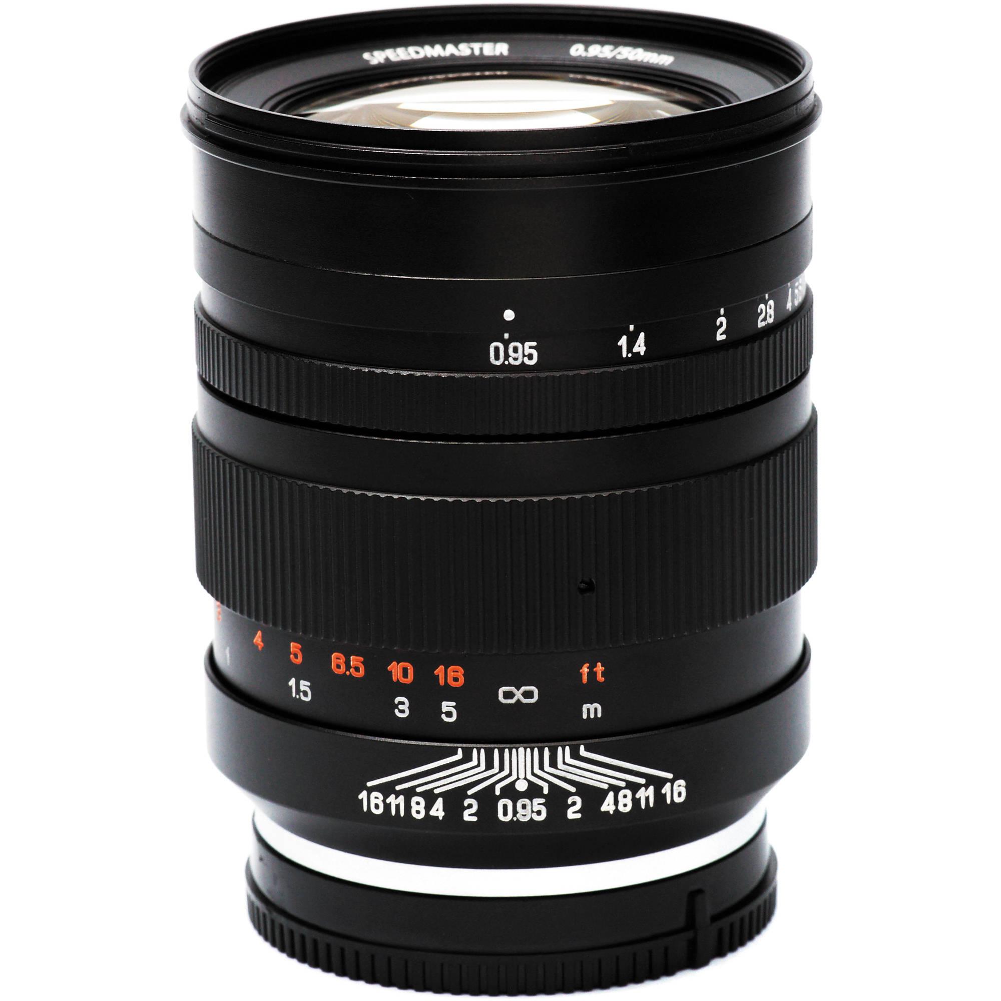 4ab9ce89a1 Mitakon Zhongyi Speedmaster 50mm f/0.95 Lens for Sony E-Mount
