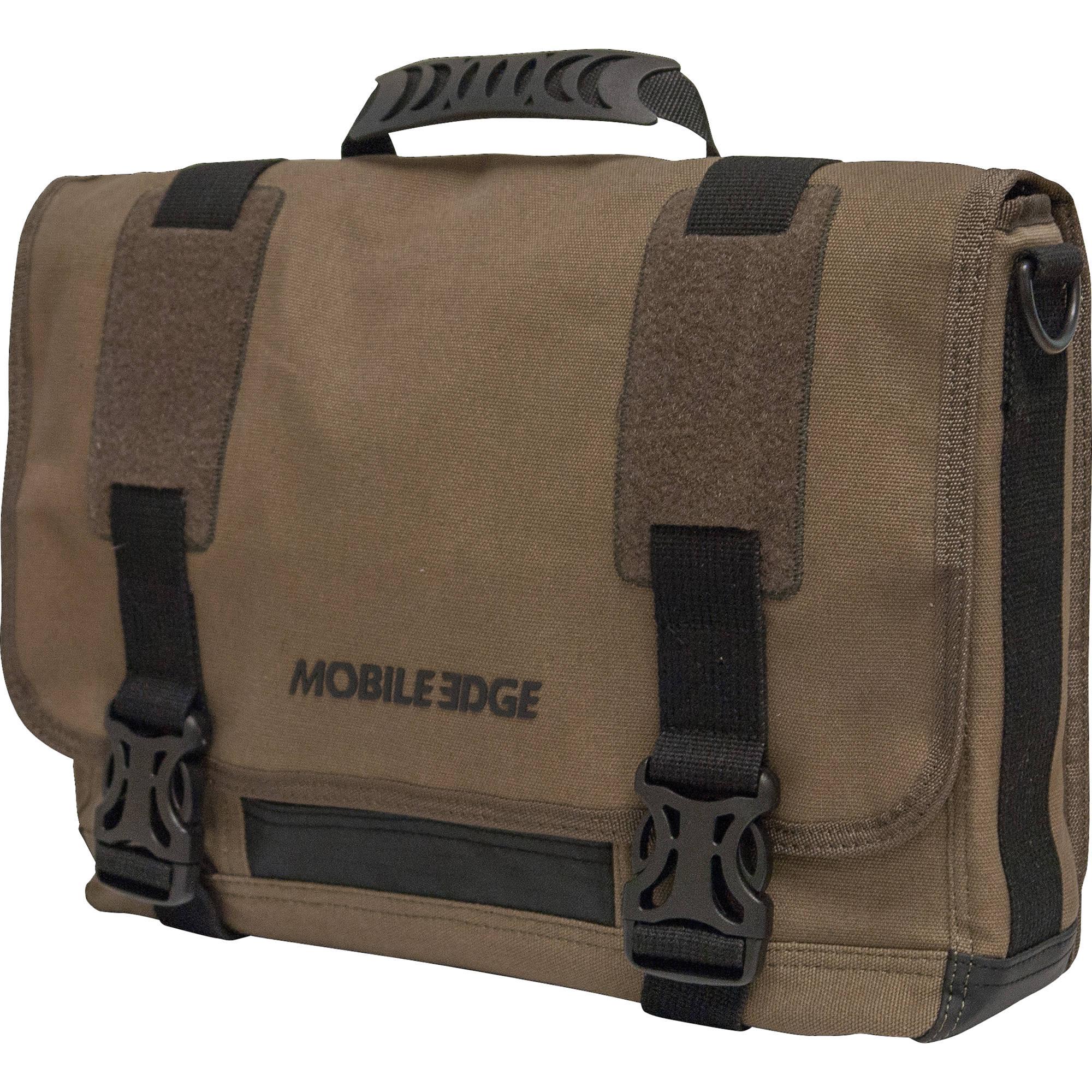 Mobile Edge 15 Notebook Eco Messenger Bag Olive