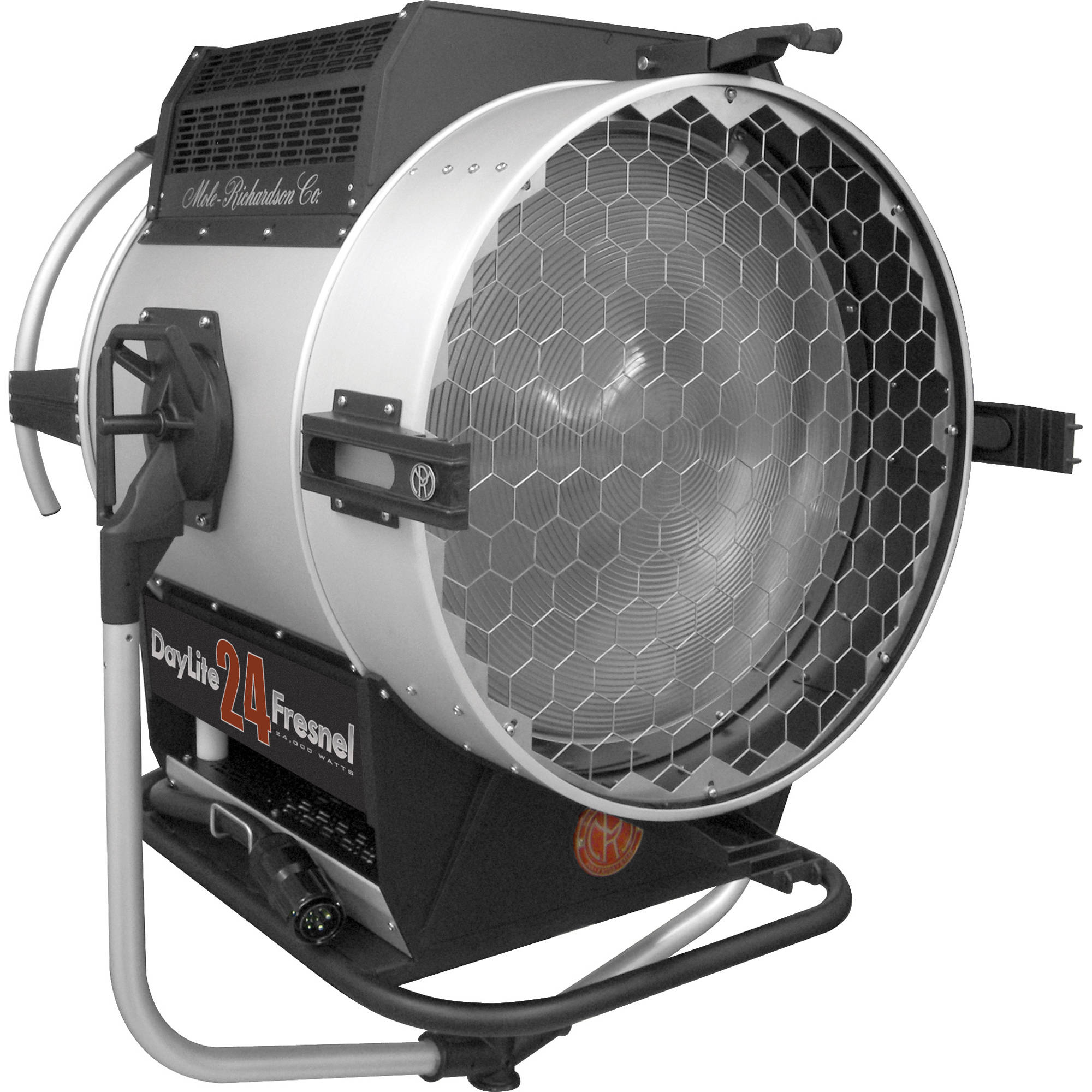 Mole Richardson Fresnel: Mole-Richardson Daylite Fresnel Fixture (24,000W) 6861 B&H