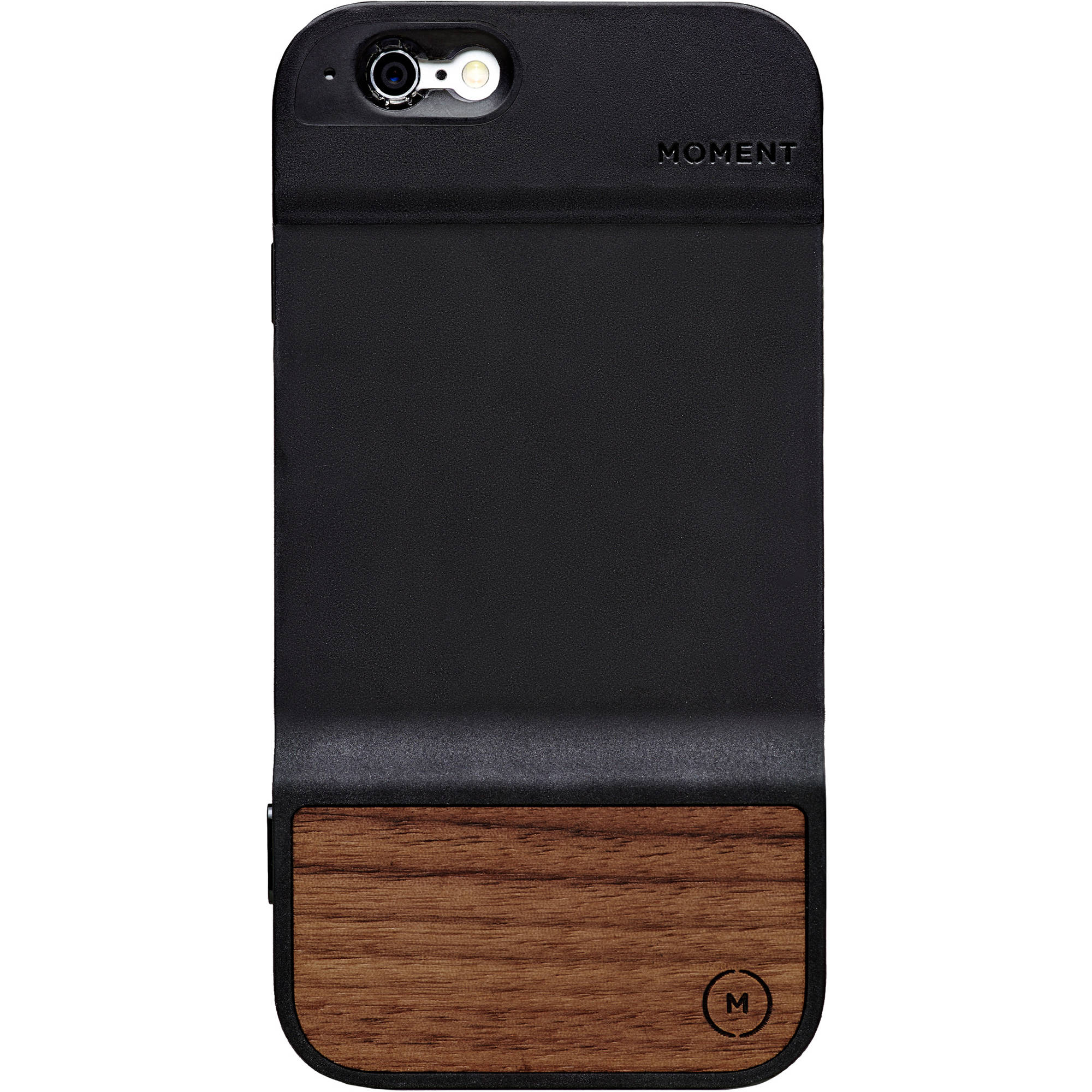 moment walnut case for iphone 6 6s 300 007 b h photo video. Black Bedroom Furniture Sets. Home Design Ideas