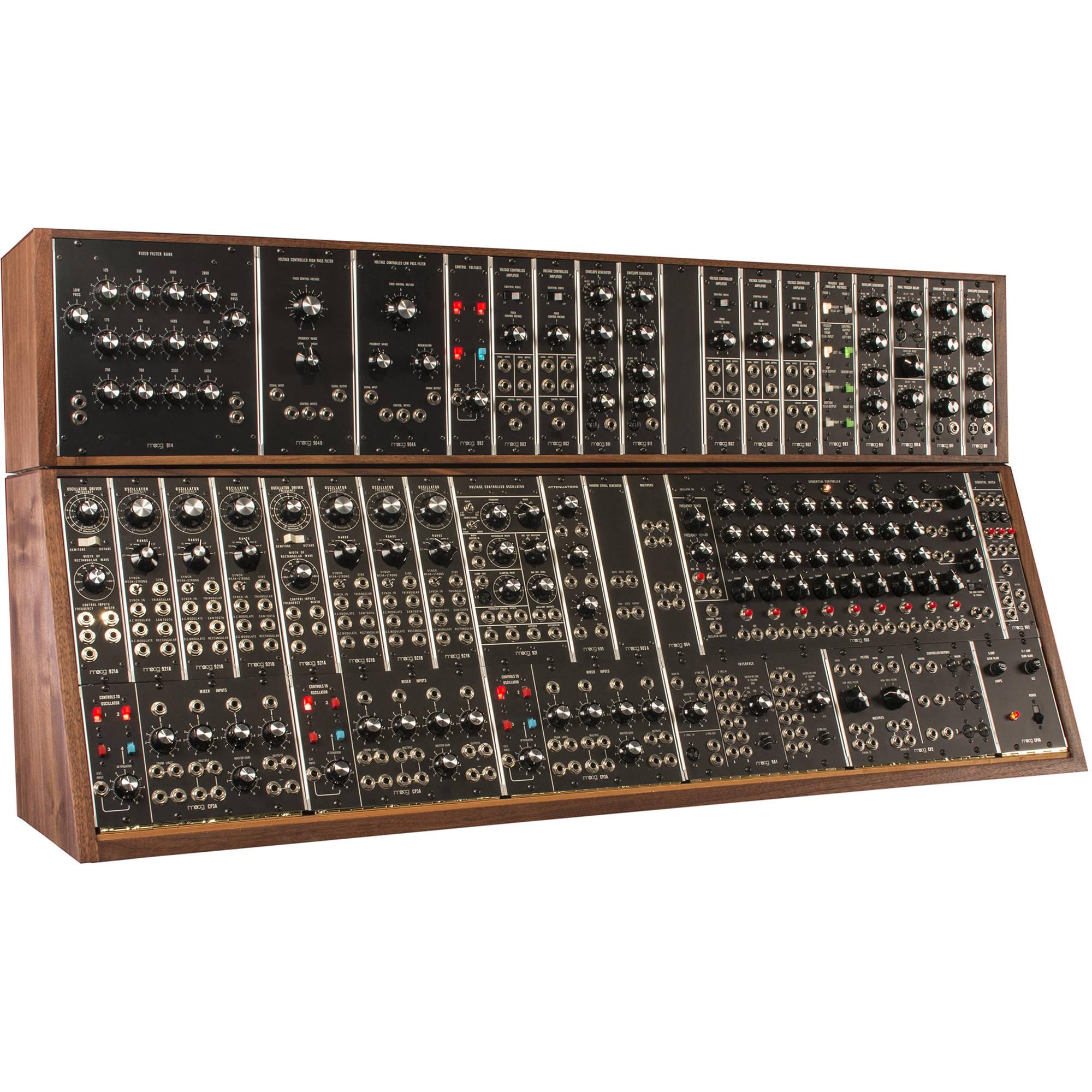 moog modular system 55 synthesizer mod sys 55 01 01 b h photo. Black Bedroom Furniture Sets. Home Design Ideas