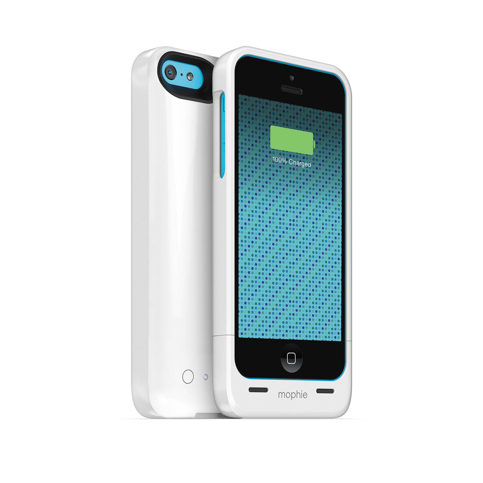iphone 5c mophie mophie juice pack helium for iphone 5c gloss white 2661 b amp h 11109