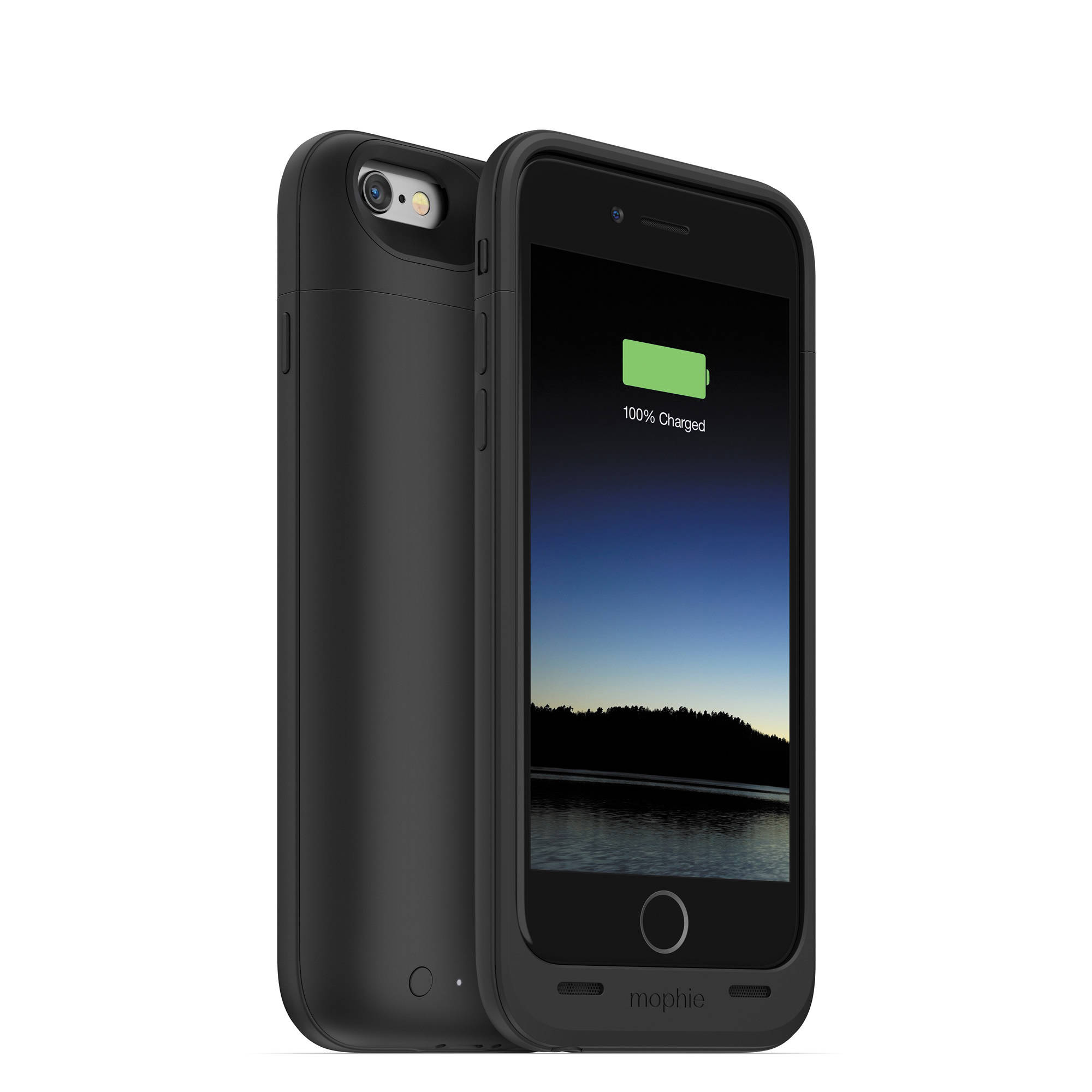 mophie juice pack air for iphone 6 6s black 3043 b h photo. Black Bedroom Furniture Sets. Home Design Ideas