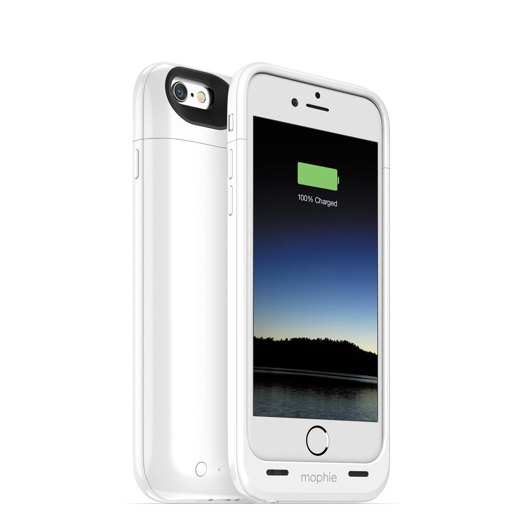 White Mophie Iphone