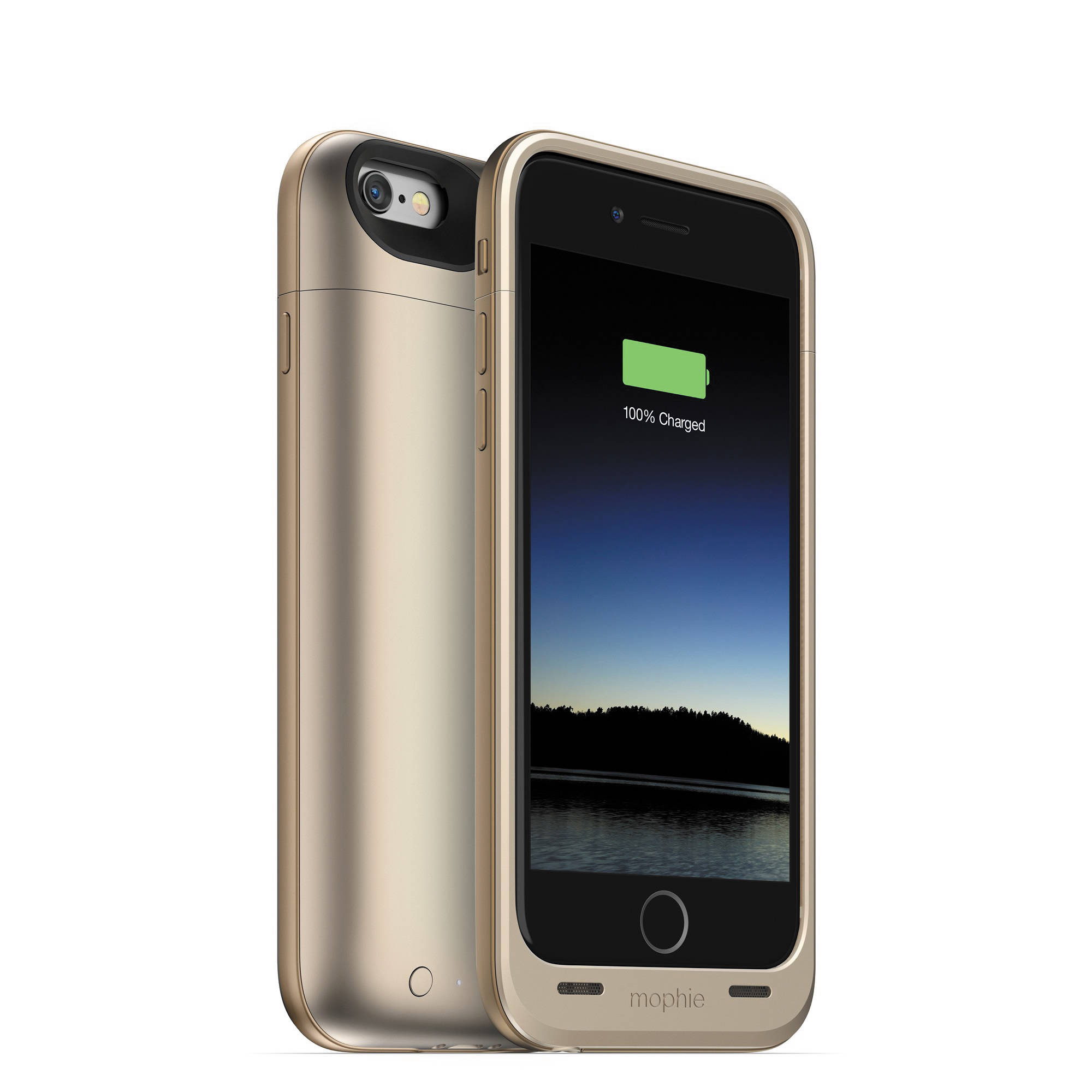 mophie juice pack air for iphone 6 6s gold 3045 b h photo. Black Bedroom Furniture Sets. Home Design Ideas