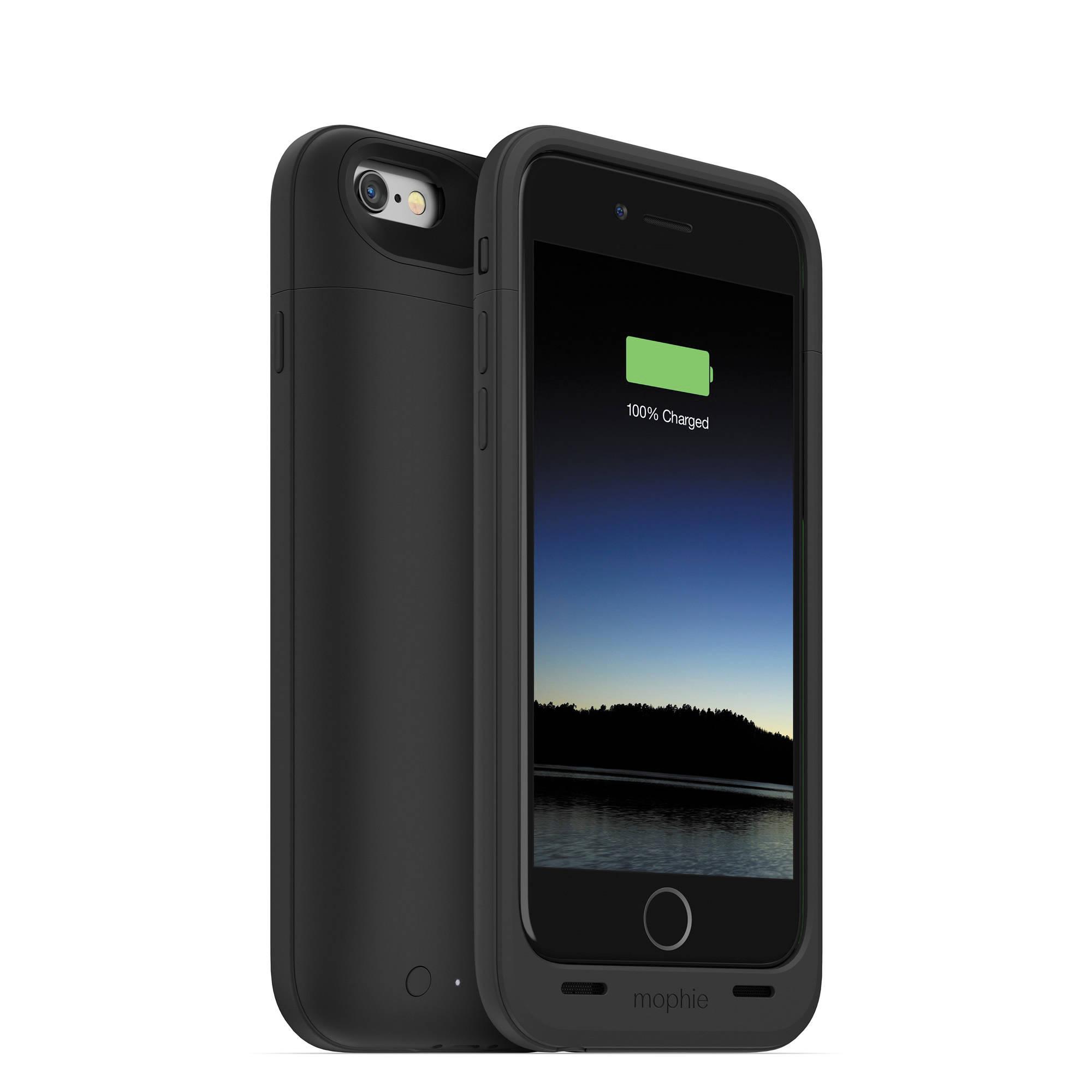 mophie juice pack plus for iphone 6 6s black 3071 b h photo. Black Bedroom Furniture Sets. Home Design Ideas