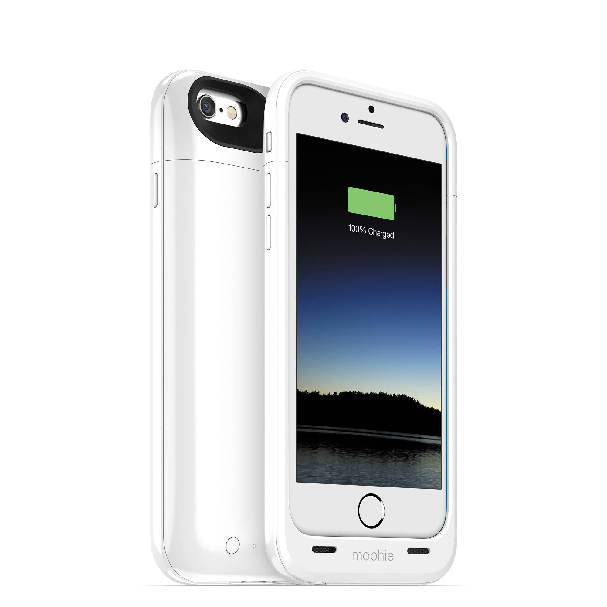 premium selection 689d7 82463 mophie juice pack plus for iPhone 6/6s (White) 3072 B&H Photo