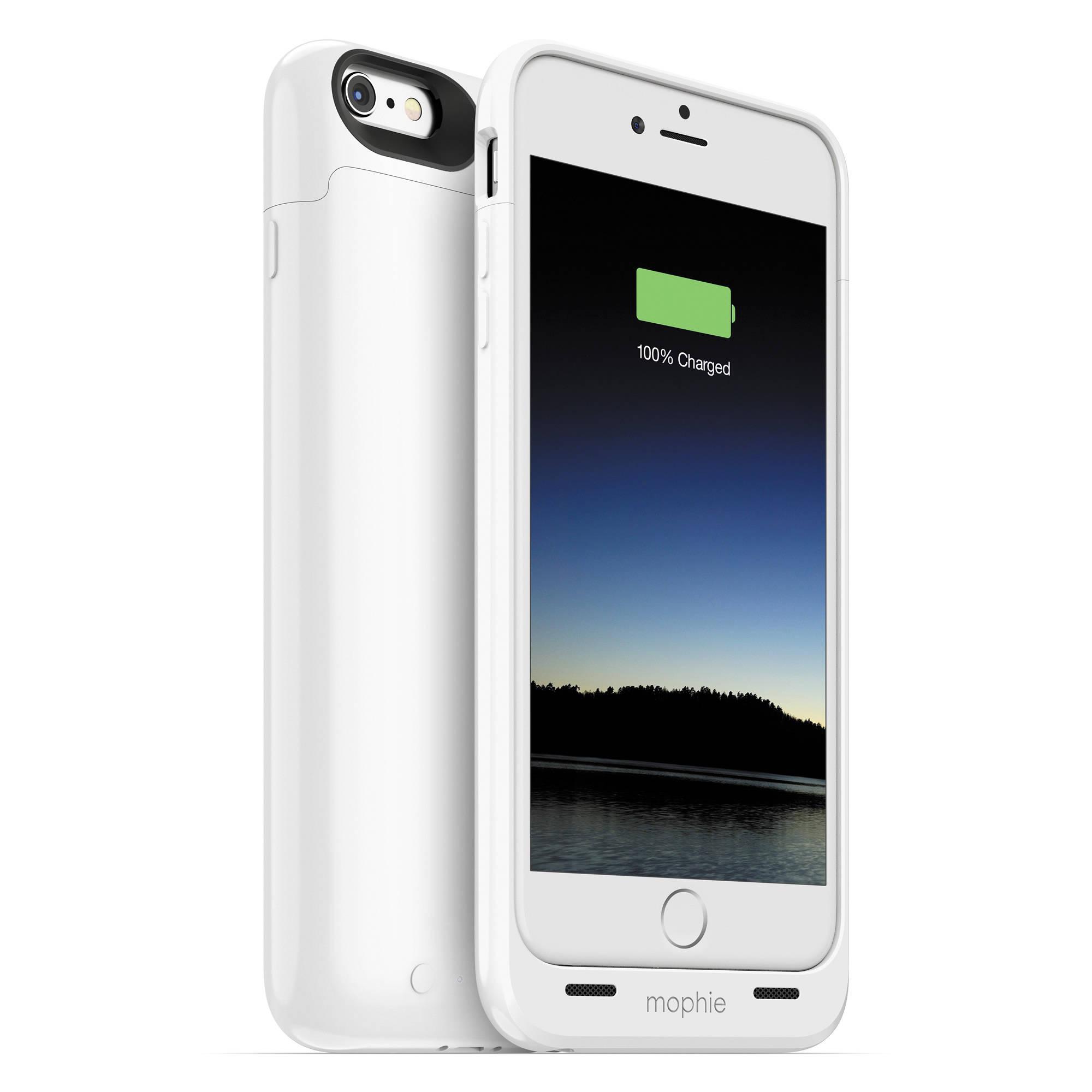 White Mophie Iphone  Plus Case