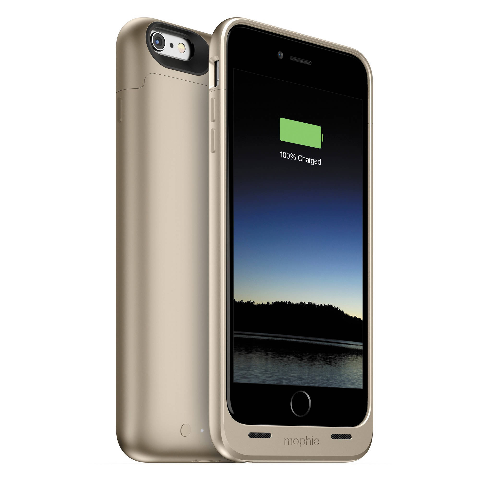 mophie juice pack for iphone 6 plus 6s plus gold 3086 b h. Black Bedroom Furniture Sets. Home Design Ideas