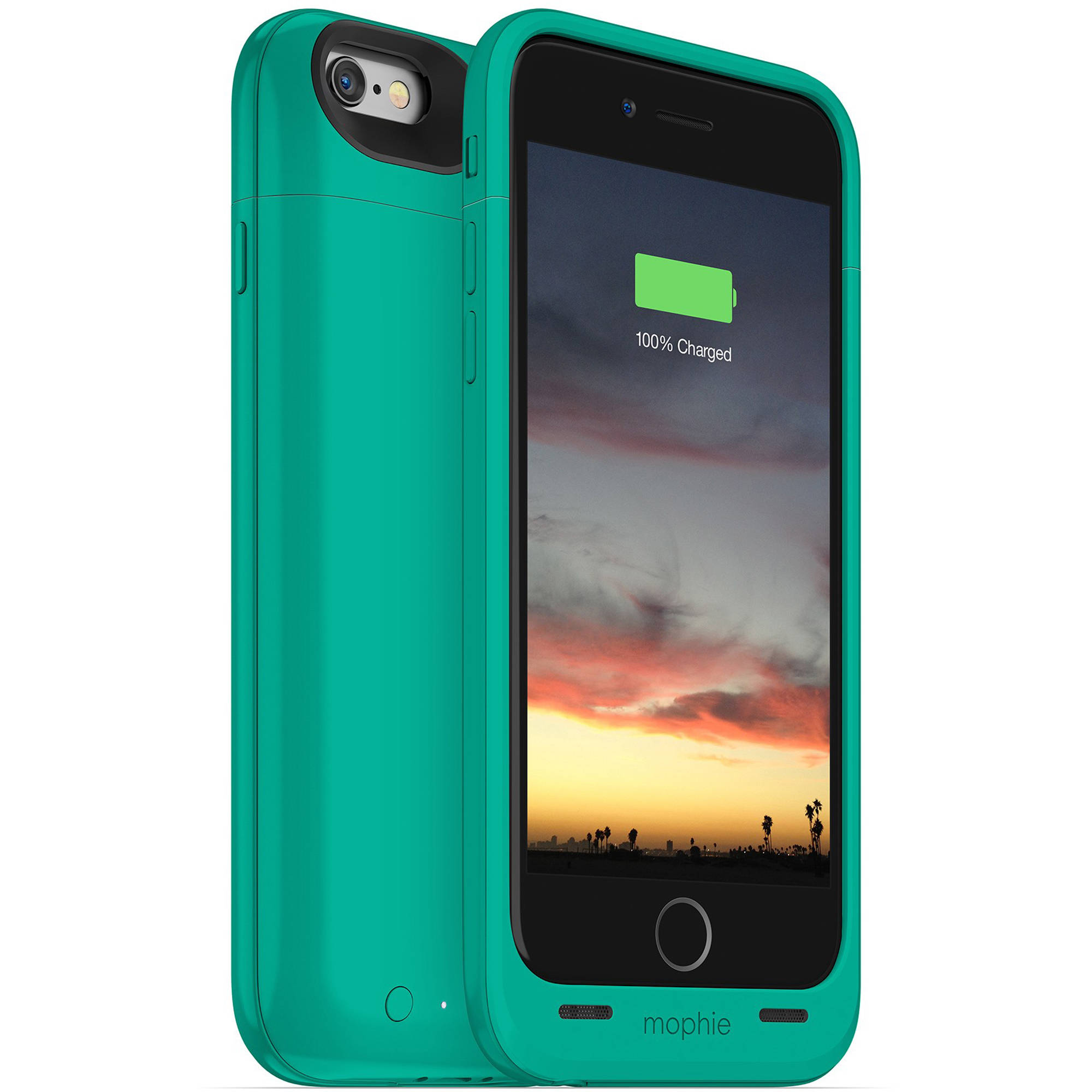 finest selection 16c82 230b7 mophie juice pack air for iPhone 6/6s (Green)