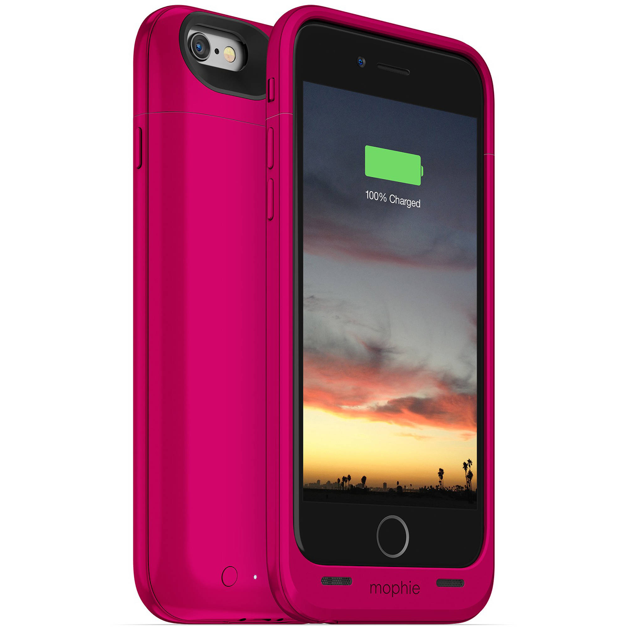 mophie juice pack air for iphone 6 6s pink 3187 b h photo. Black Bedroom Furniture Sets. Home Design Ideas
