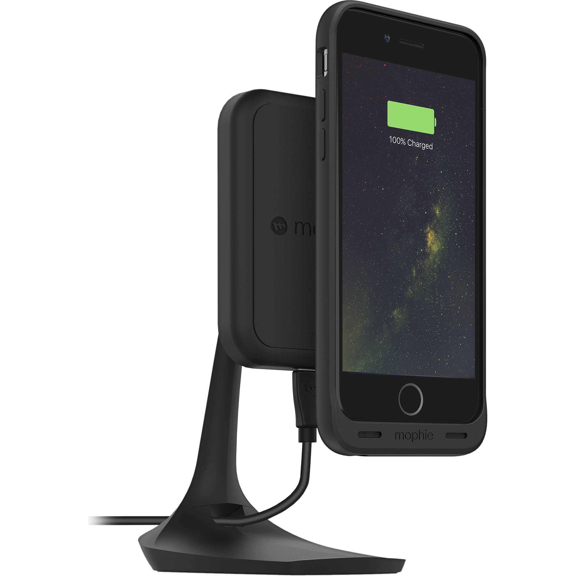 Mophie Charge Force Desk Mount 3454 B Amp H Photo Video