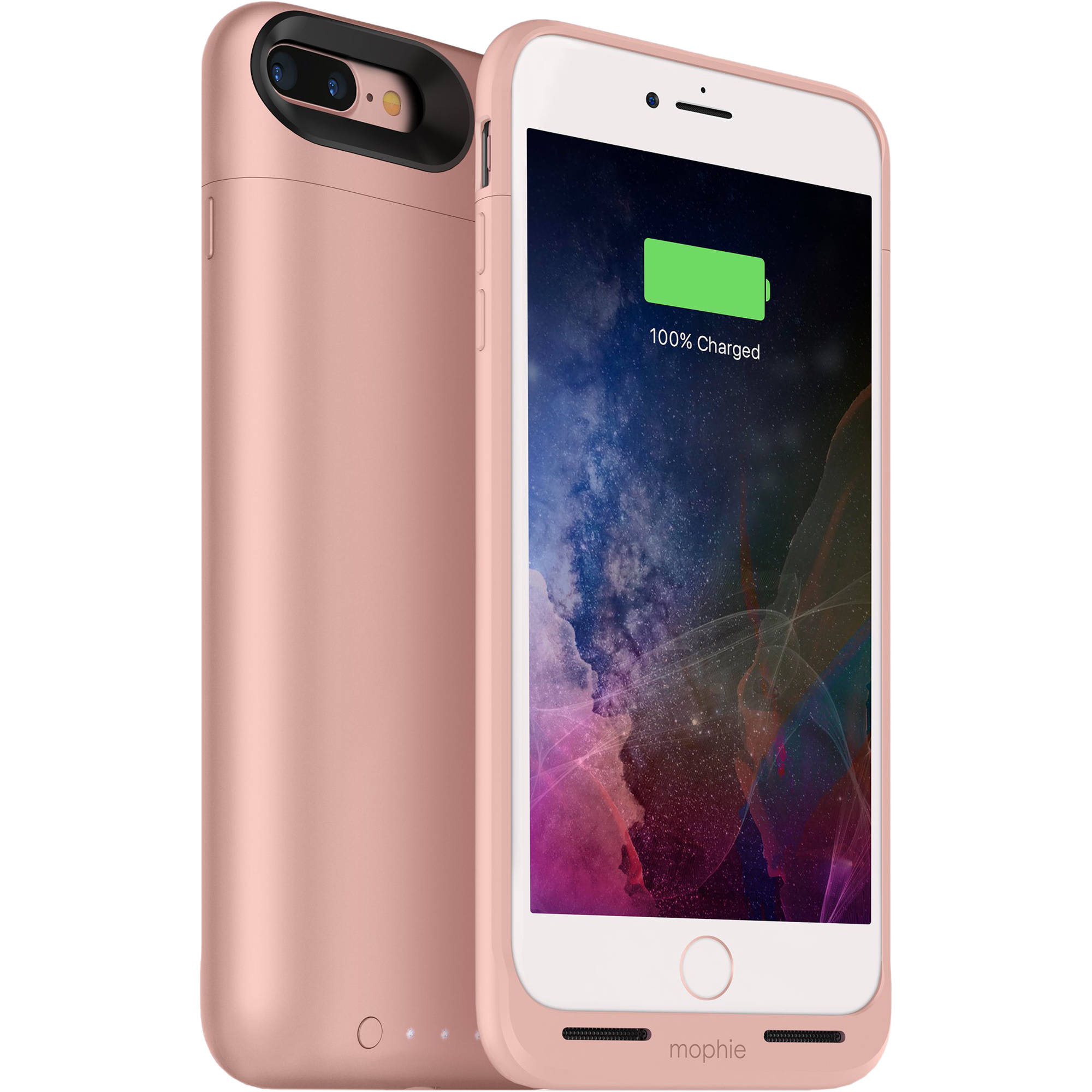 mophie juice pack air for iphone 7 plus rose gold 3786 b h. Black Bedroom Furniture Sets. Home Design Ideas