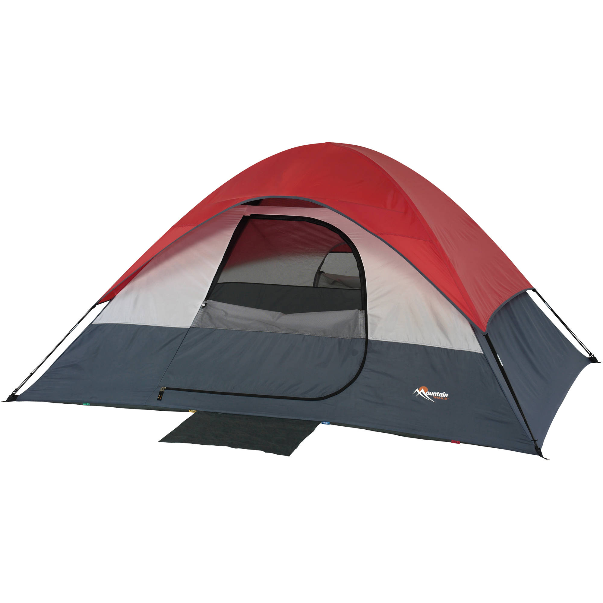 Mountain Trails South Bend 4 Person Dome Tent  sc 1 st  Bu0026H : ozark trail tents 4 person - memphite.com