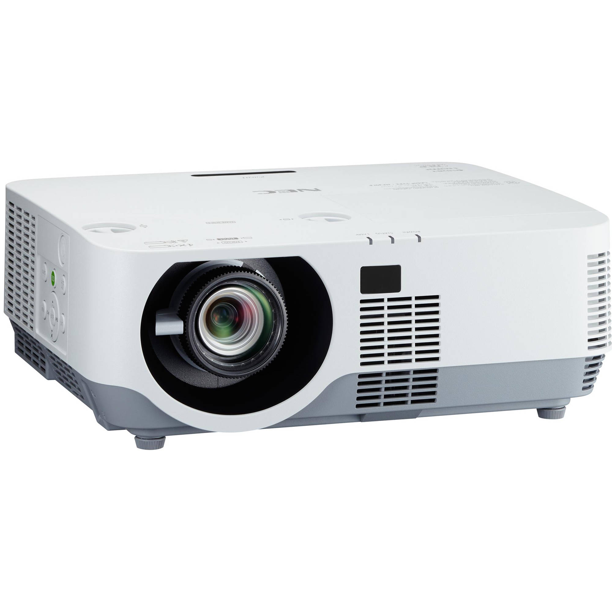 Nec np p502hl 5000 lumen full hd professional laser np p502hl for Hd projector