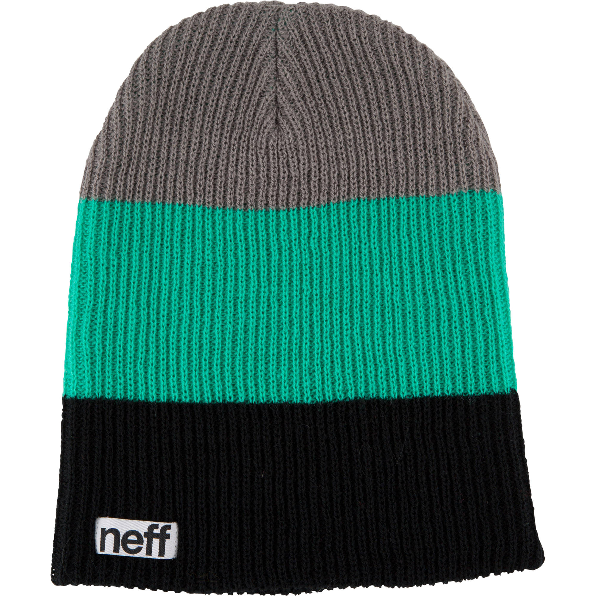 a4266ac6b7b Neff Trio Beanie (Black Green Gray) NF00005-BGNY B H Photo Video