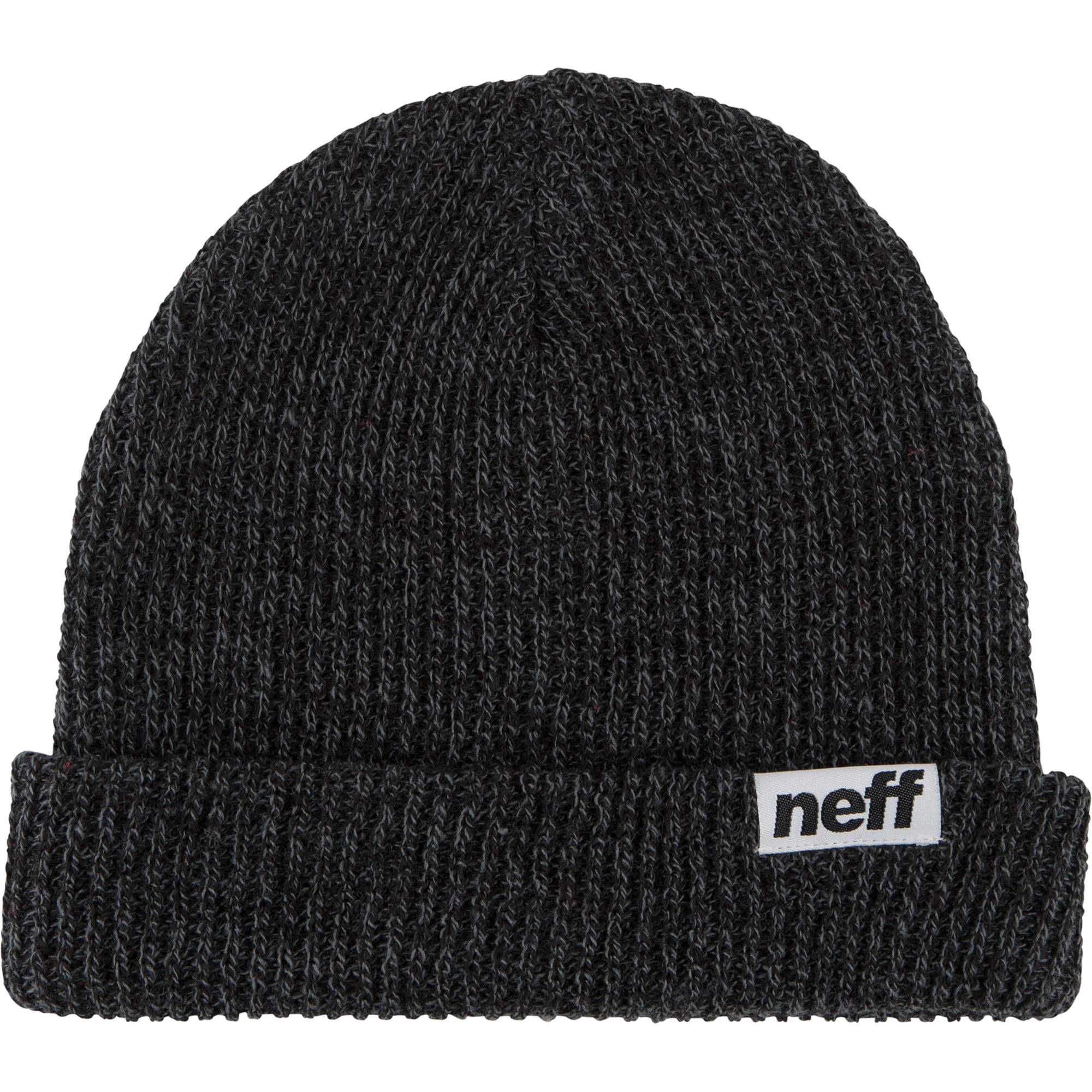 fc4ef1958d5 Neff Fold Heather Beanie (Black Grey) NF00008-BKGY B H Photo
