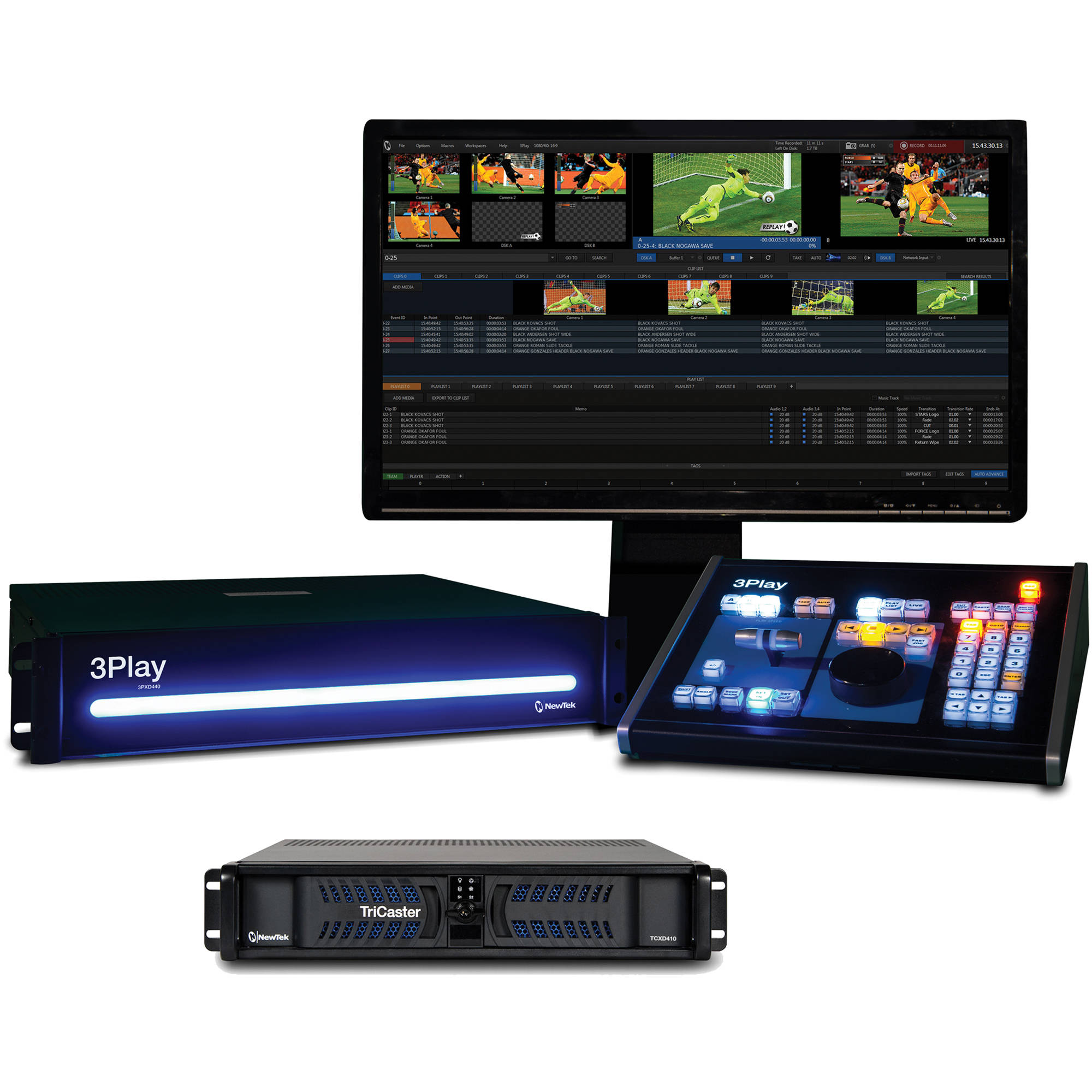 NewTek Live Sports 410 Solution: TriCaster 410 FG-000835-R001