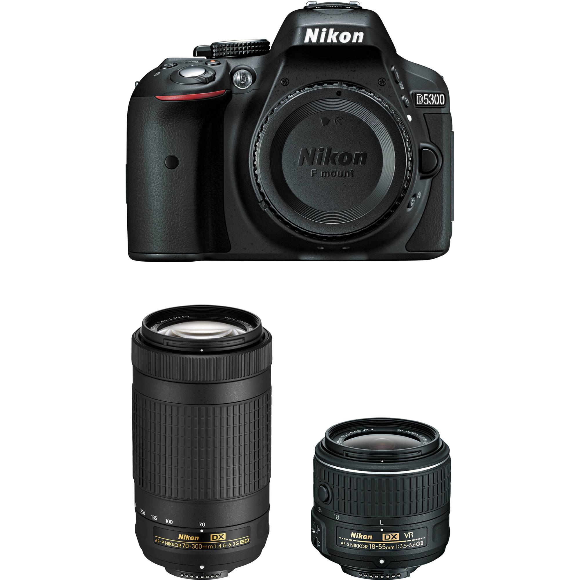 Nikon D5300 | B&H Photo Video