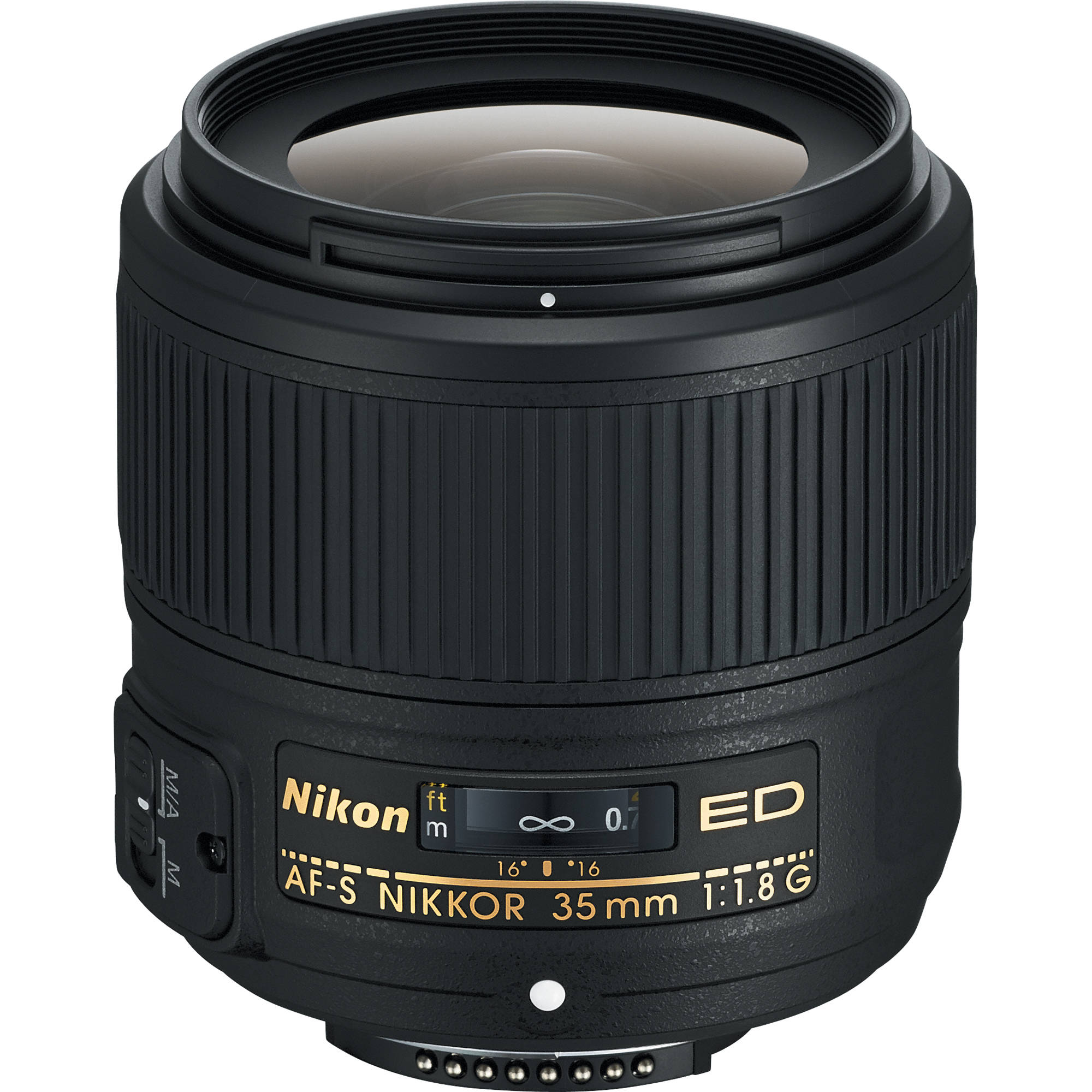 Nikon AF-S NIKKOR 35mm f/1.8G ED Lens 2215 B&H Photo Video