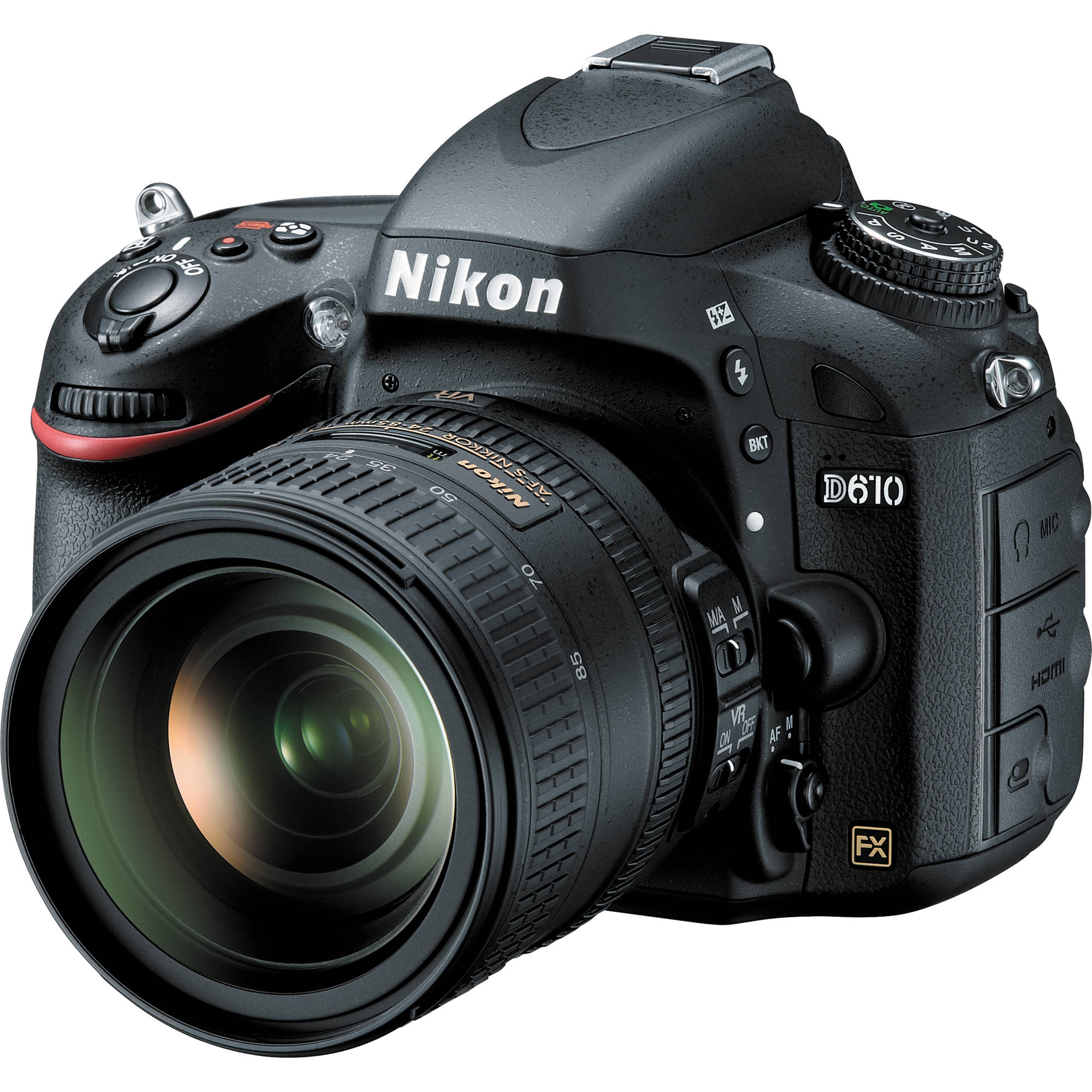 Nikon D610 DSLR Camera with 24-85mm Lens 13305 Nikon D610 ...