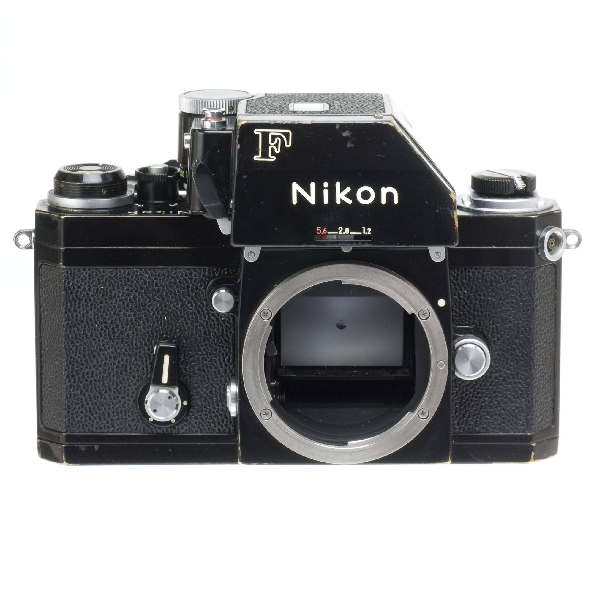 used nikon f photomic ftn apollo 35mm slr camera body black rh bhphotovideo com nikon f photomic instruction manual nikon f photomic manuale
