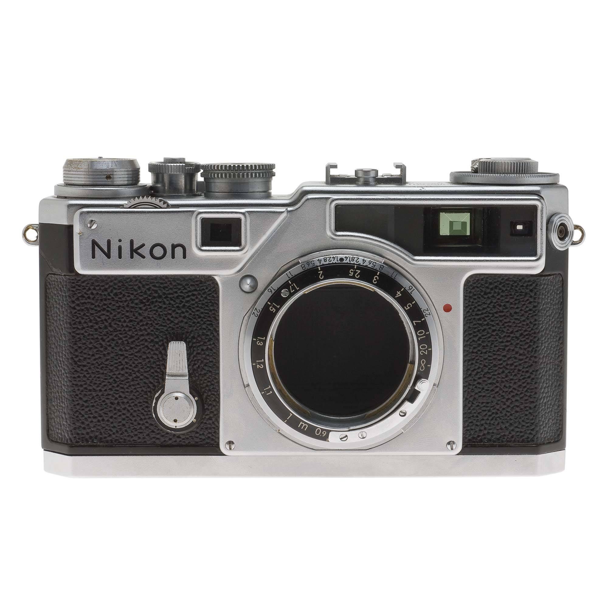 used nikon sp 35mm rangefinder manual focus camera body chrome rh bhphotovideo com Nikon ProStaff Rangefinder Nikon Digital Rangefinder