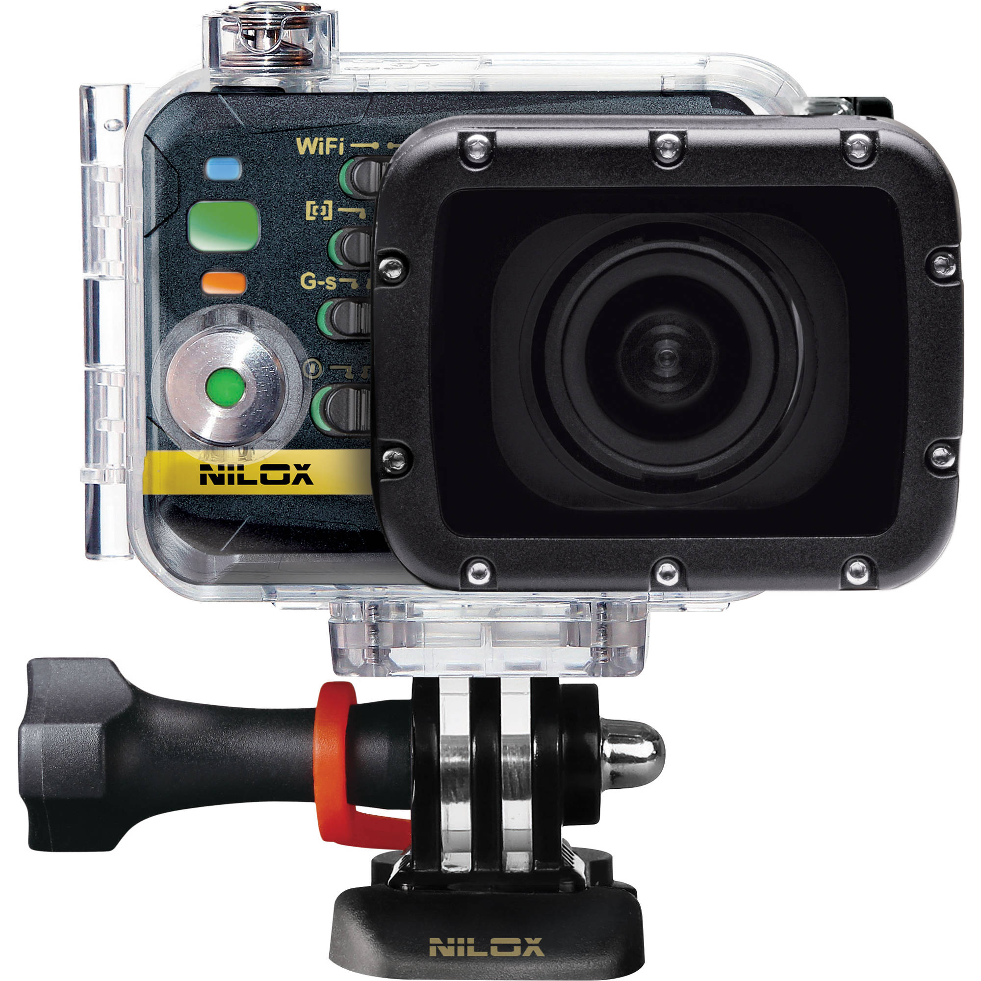 Nilox F-60 EVO Action Camera NX F60EVO B&H Photo Video