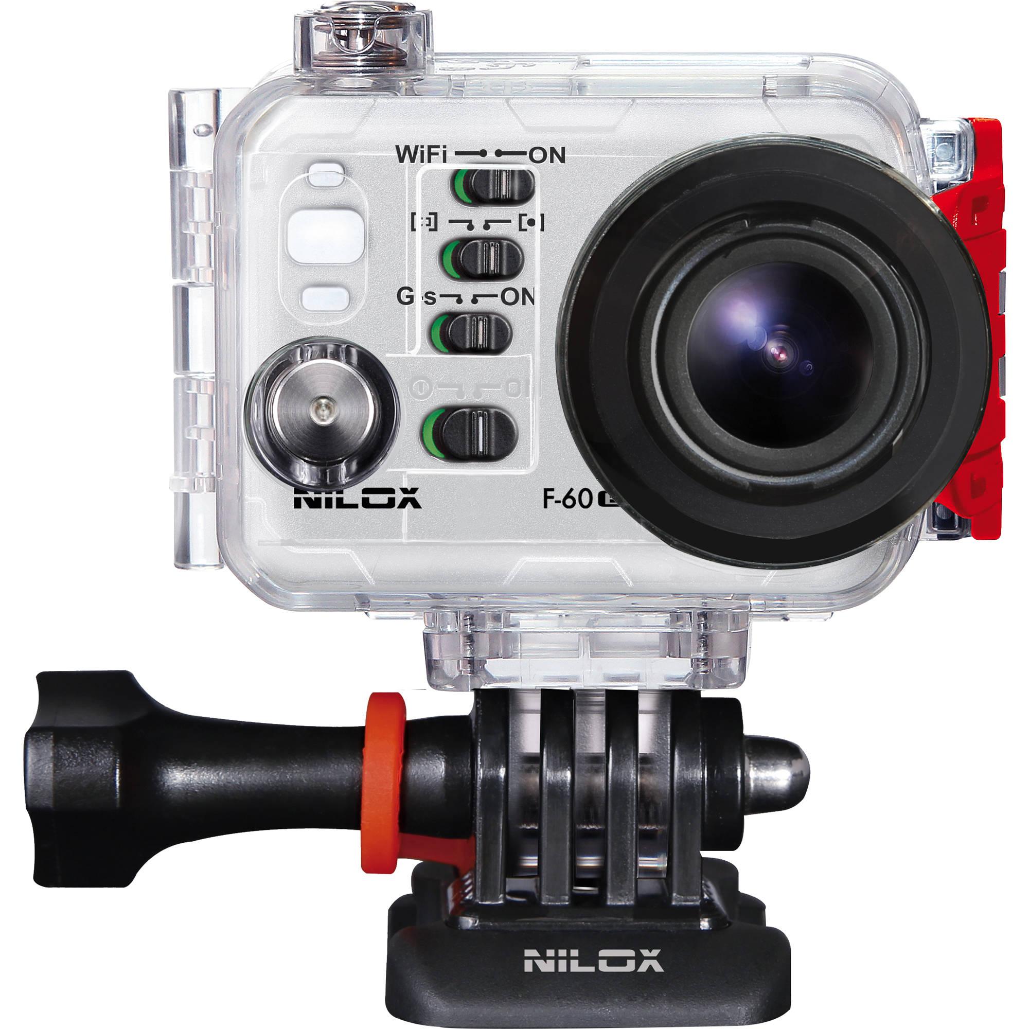 Nilox F-60 EVO, action cam 1080p con App - Tutto Digitale