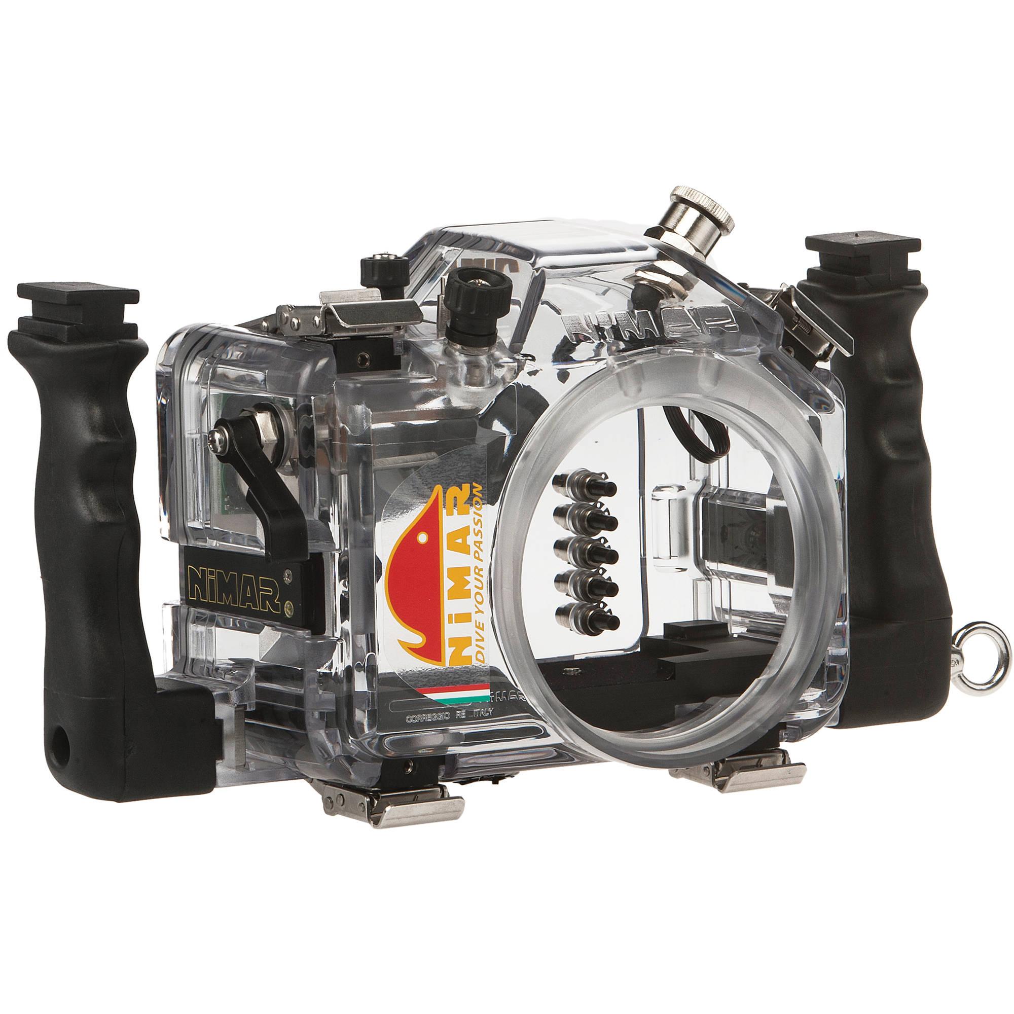 Camera Dslr Camera Without Lens nimar underwater housing for nikon d3200 dslr camera nid3200 bh without lens port