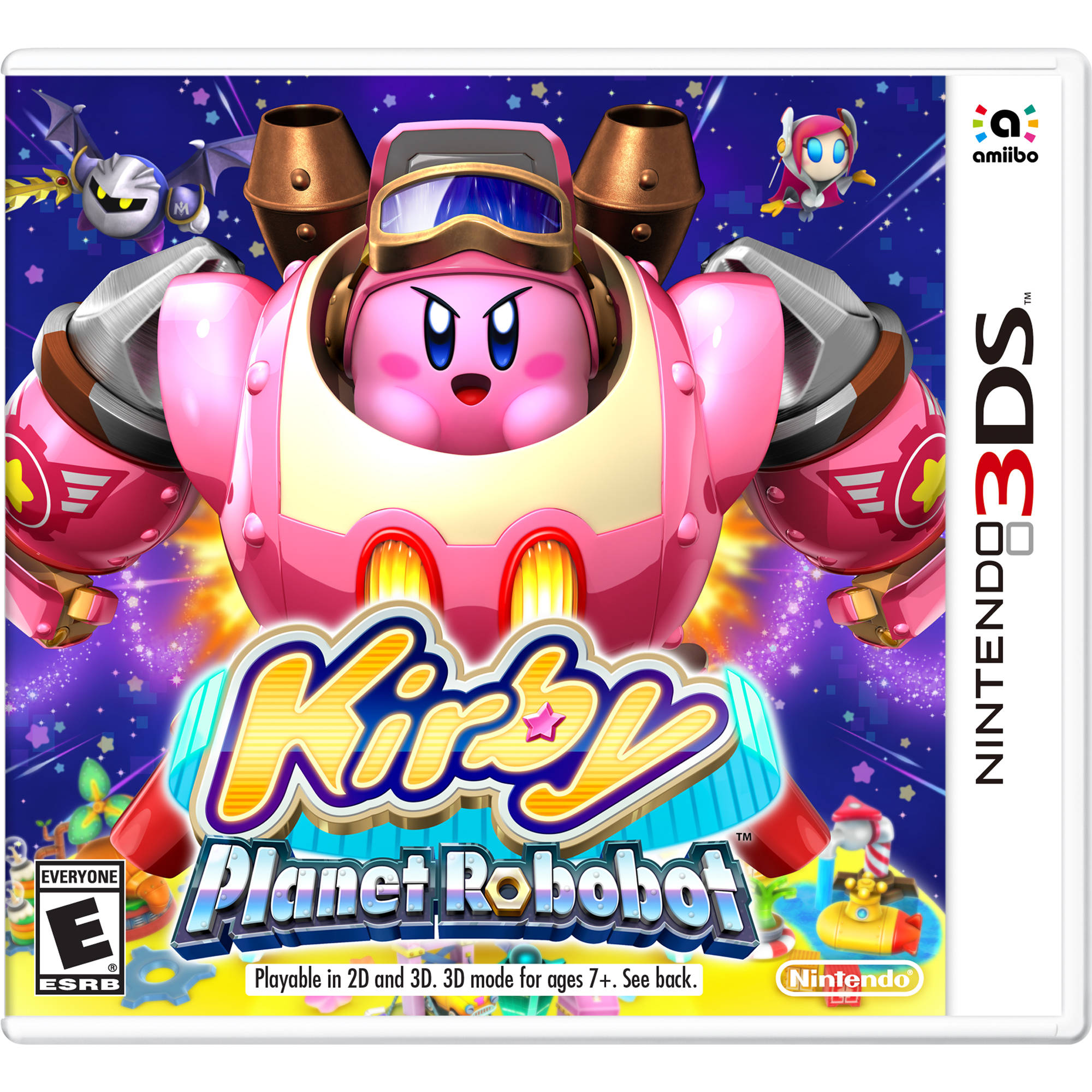 Kirby Planet Robobot case